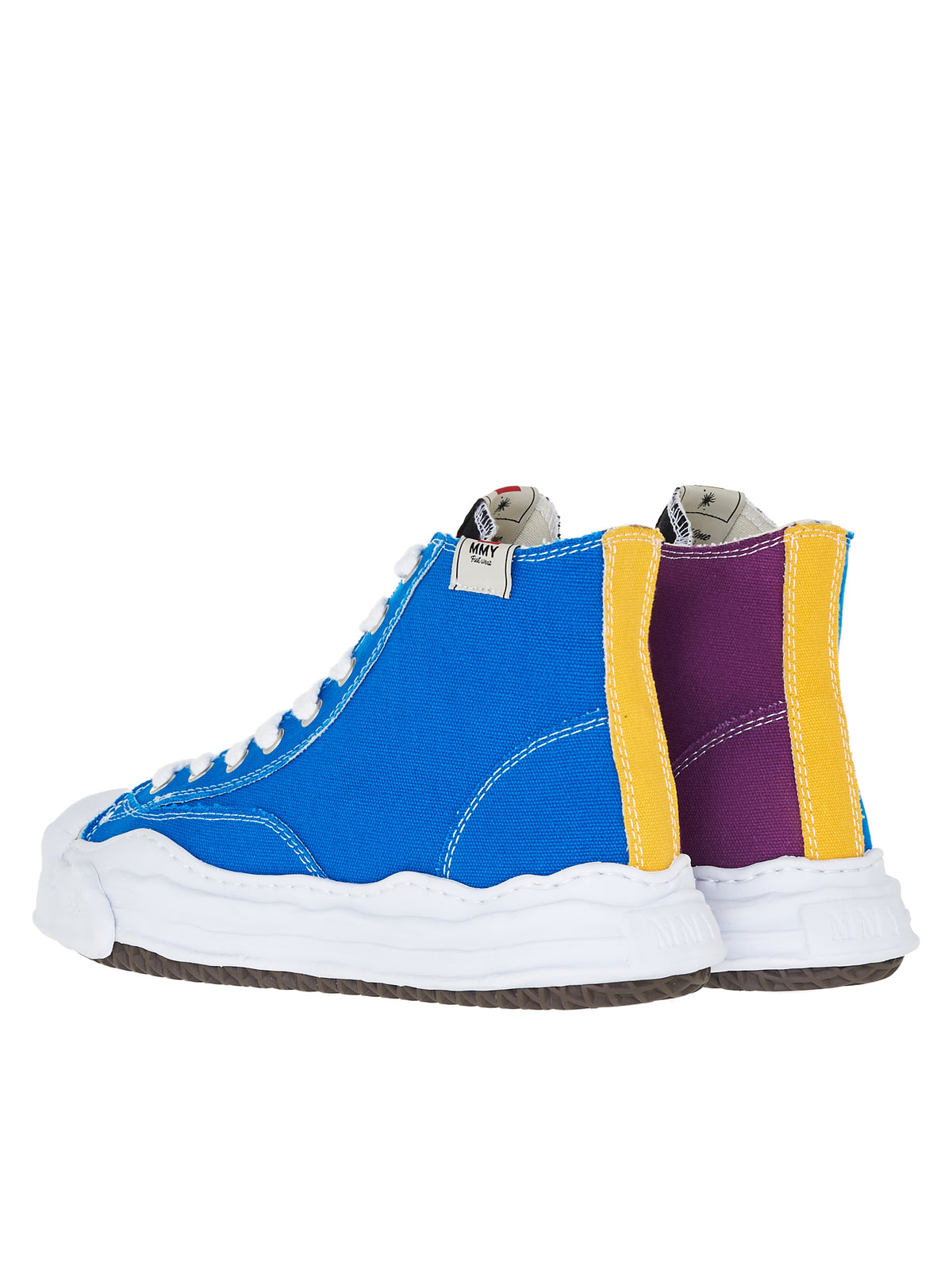 Original Sole Hi-Top Sneakers (A05FW701-BLUE-PURPLE)