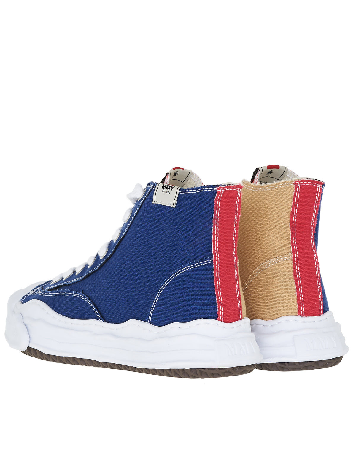 Original Sole Hi-Top Sneakers (A05FW701-NAVY-BEIGE)