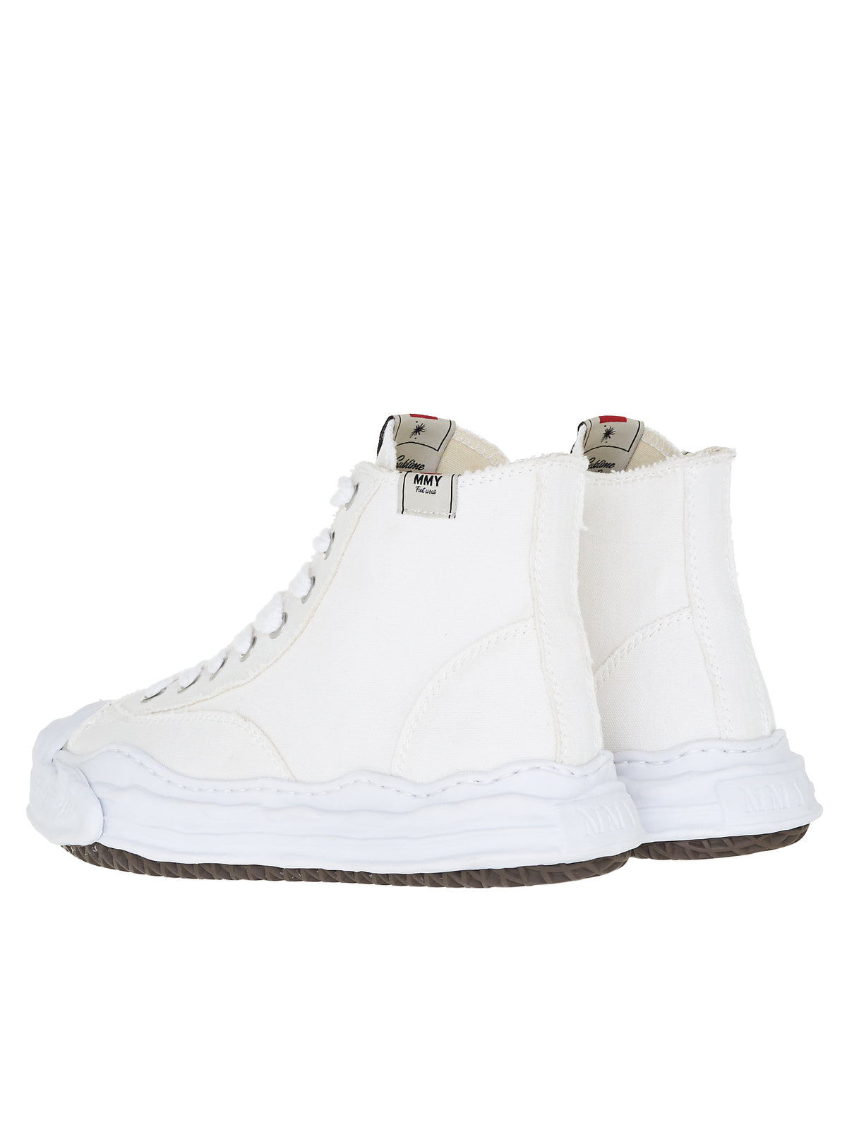 Original Sole Hi-Top Sneakers (A05FW701-WHITE)