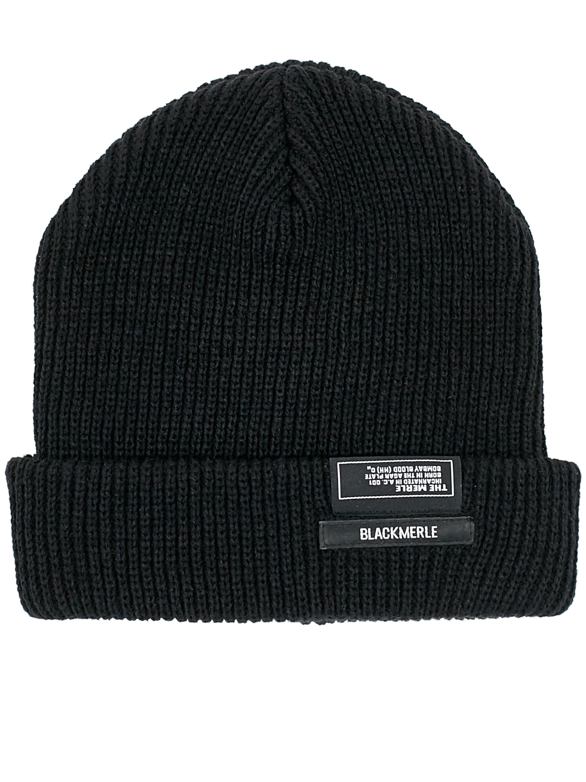 6427ab1457c Brand Patch Beanie (A06-TOQ-BLACK) ...