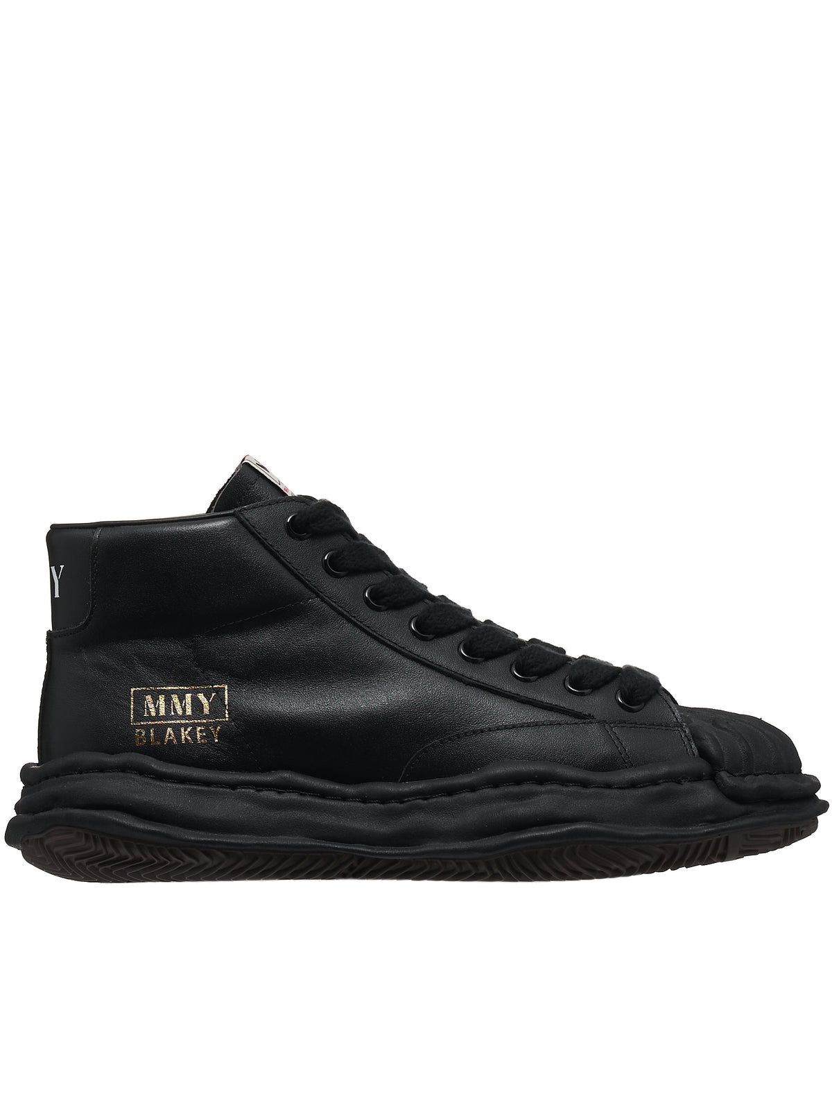 Original Sole Hi-Top Sneakers (A06FW701-BLACK)