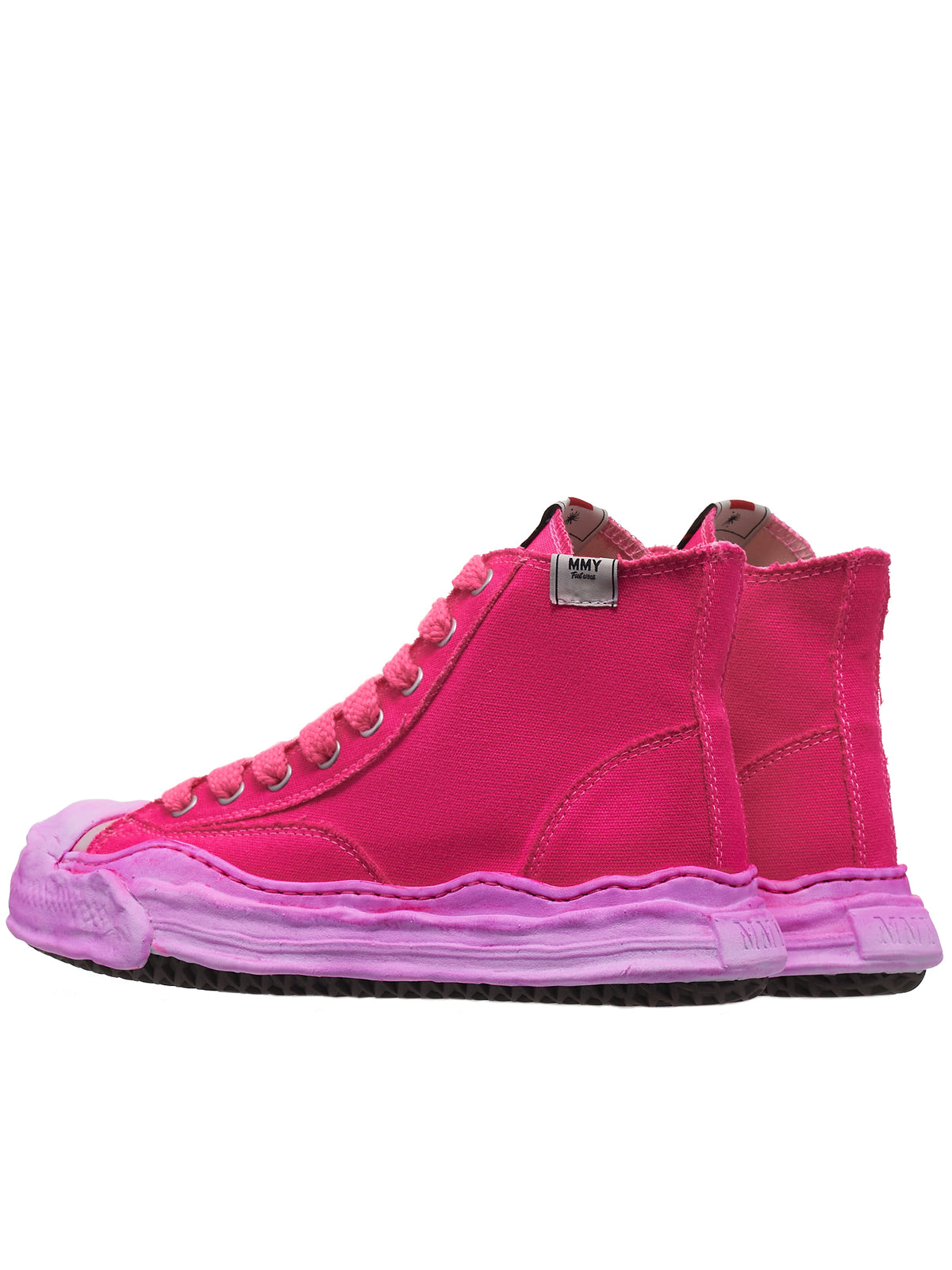 Original Sole Hi-Top Sneakers (A06FW711-NEON-PINK)