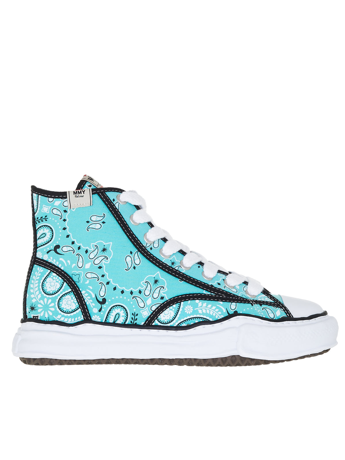 Original Sole Hi-Top Sneakers (A06FW731-GREEN)