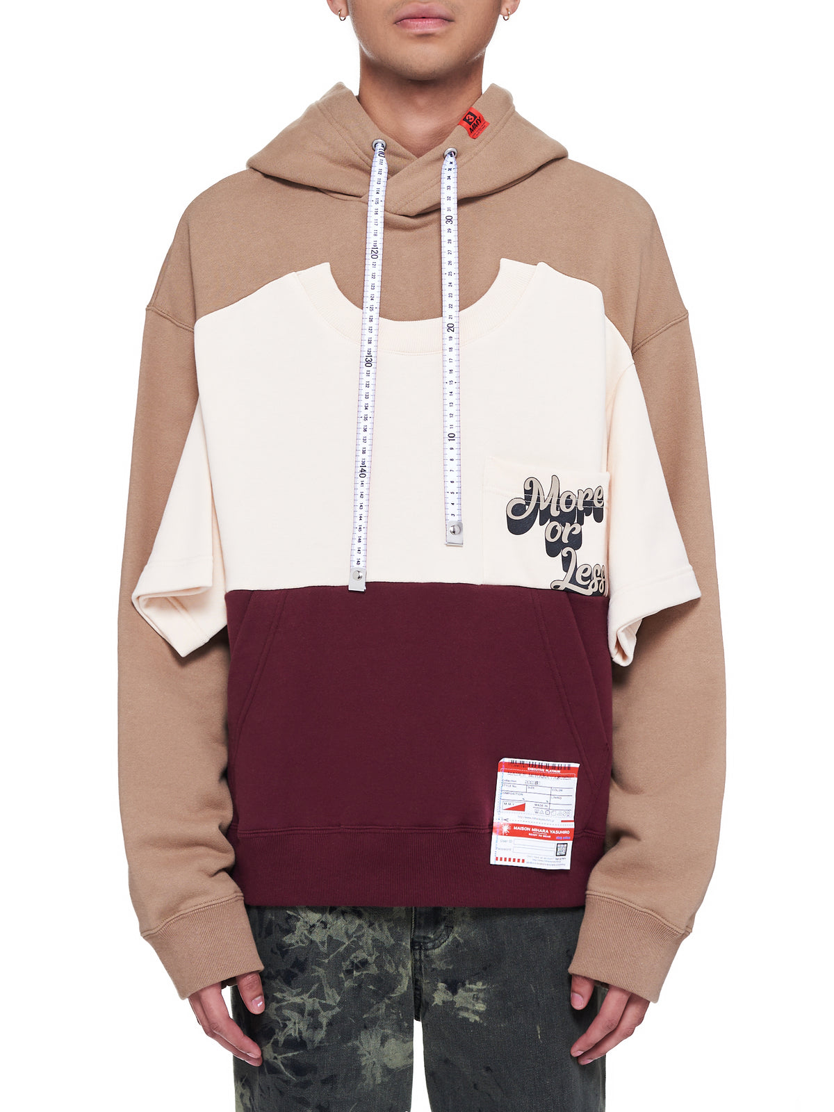 Border Docking Hoodie (A06HD593-BROWN)