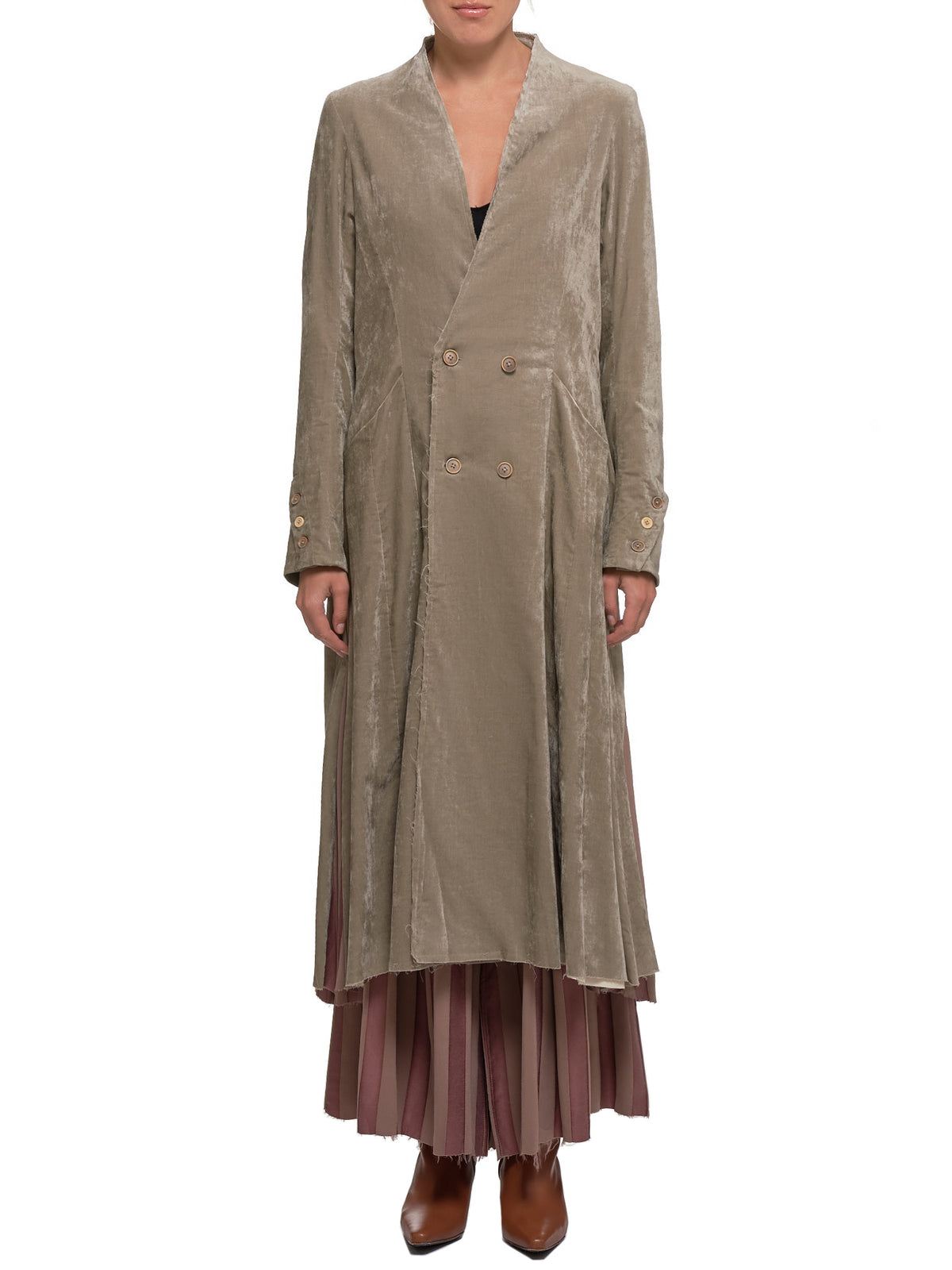 Margrete Coat (A1920379-GRAY-ASH)