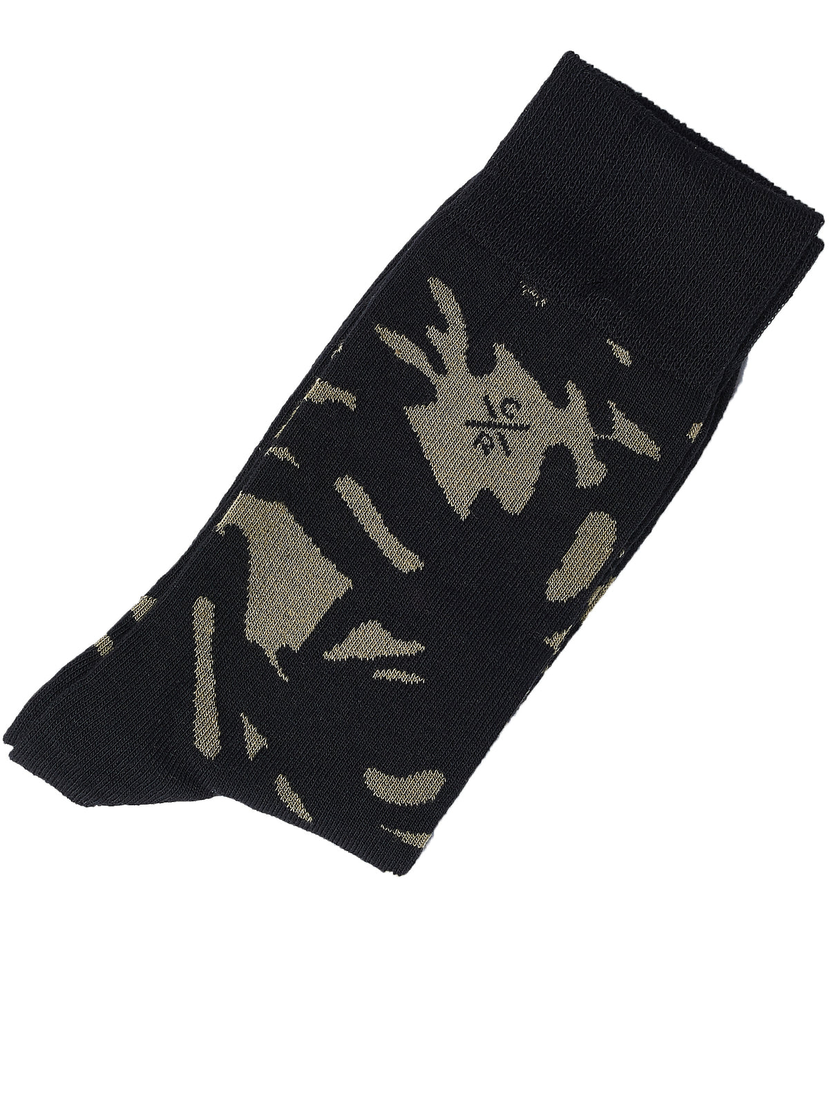Camouflage Knit Socks (AAC7016-OLIVE)