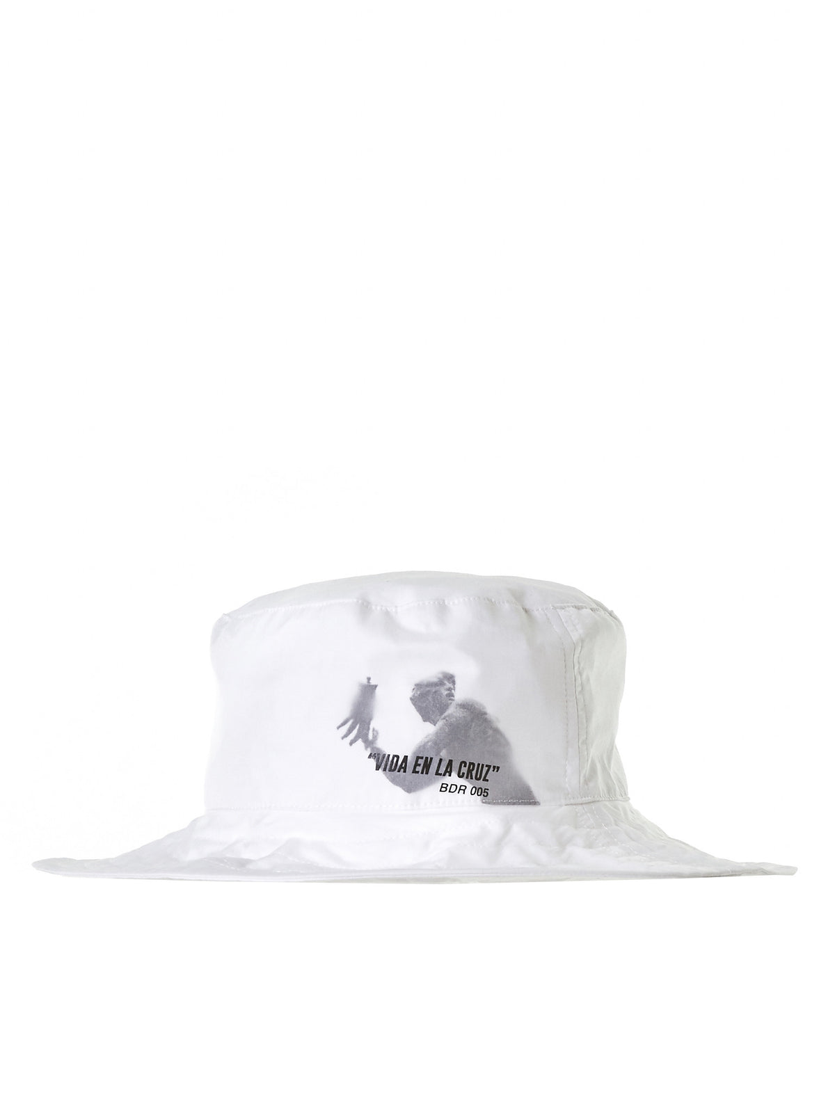 Layered Bucket Hat (AC2W-WHITE)