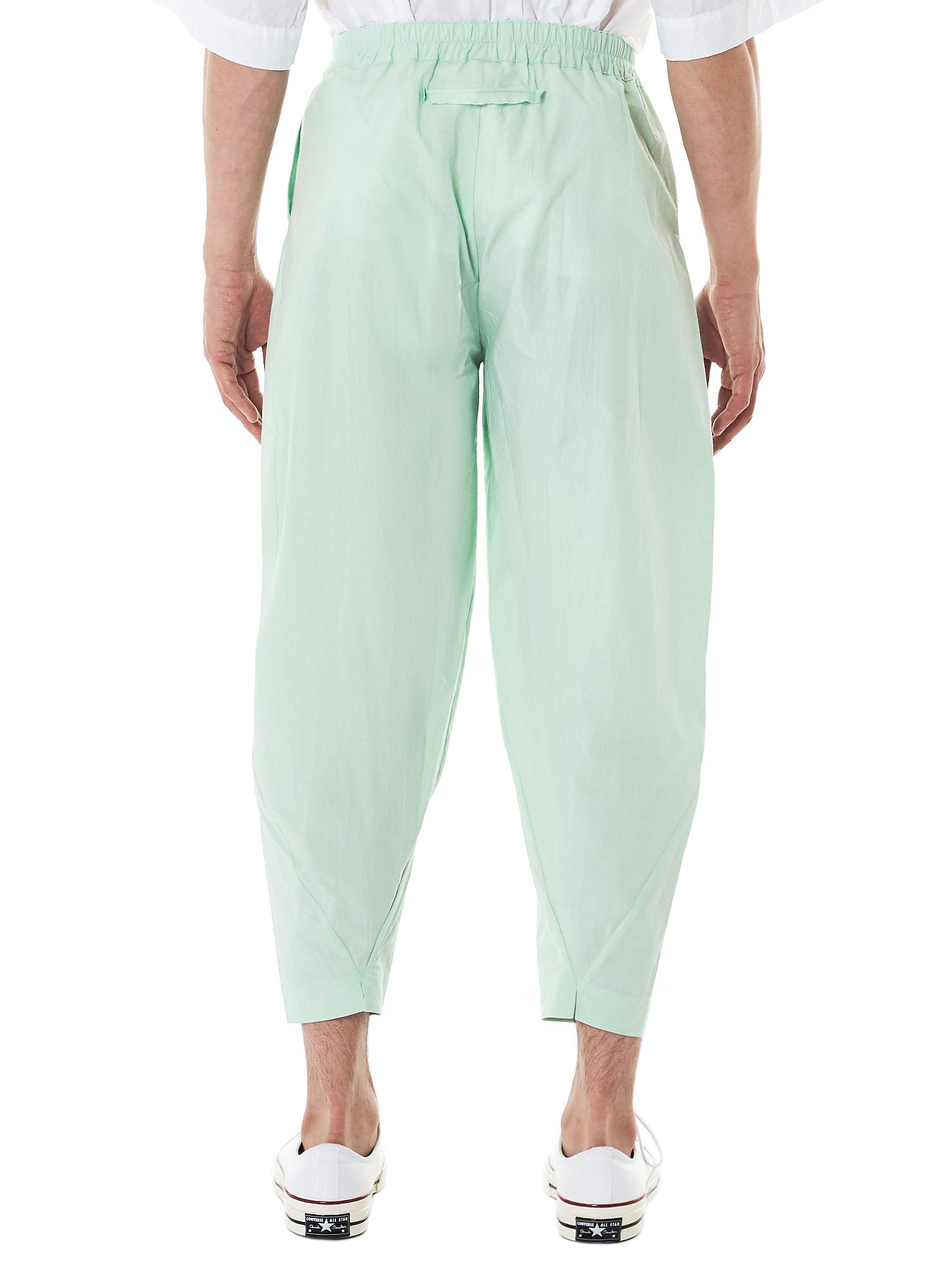 Toogood Cropped Trousers - Hlorenzo Back