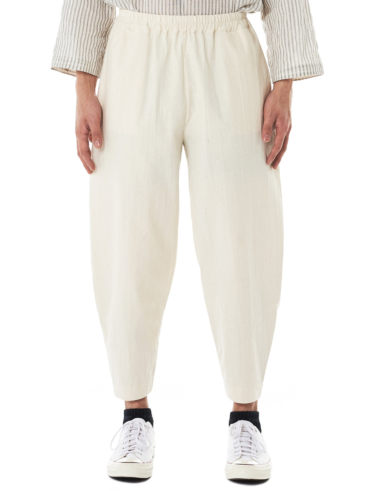 Toogood Cropped Trousers - Hlorenzo Front