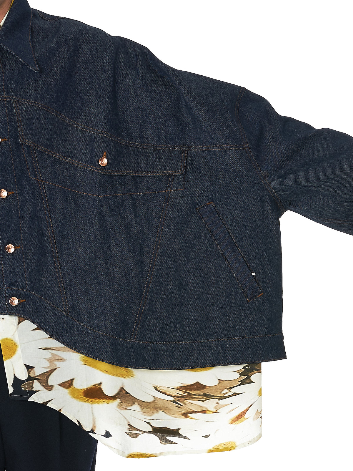 Alex Mullins Denim Jacket - Hlorenzo Detail 2
