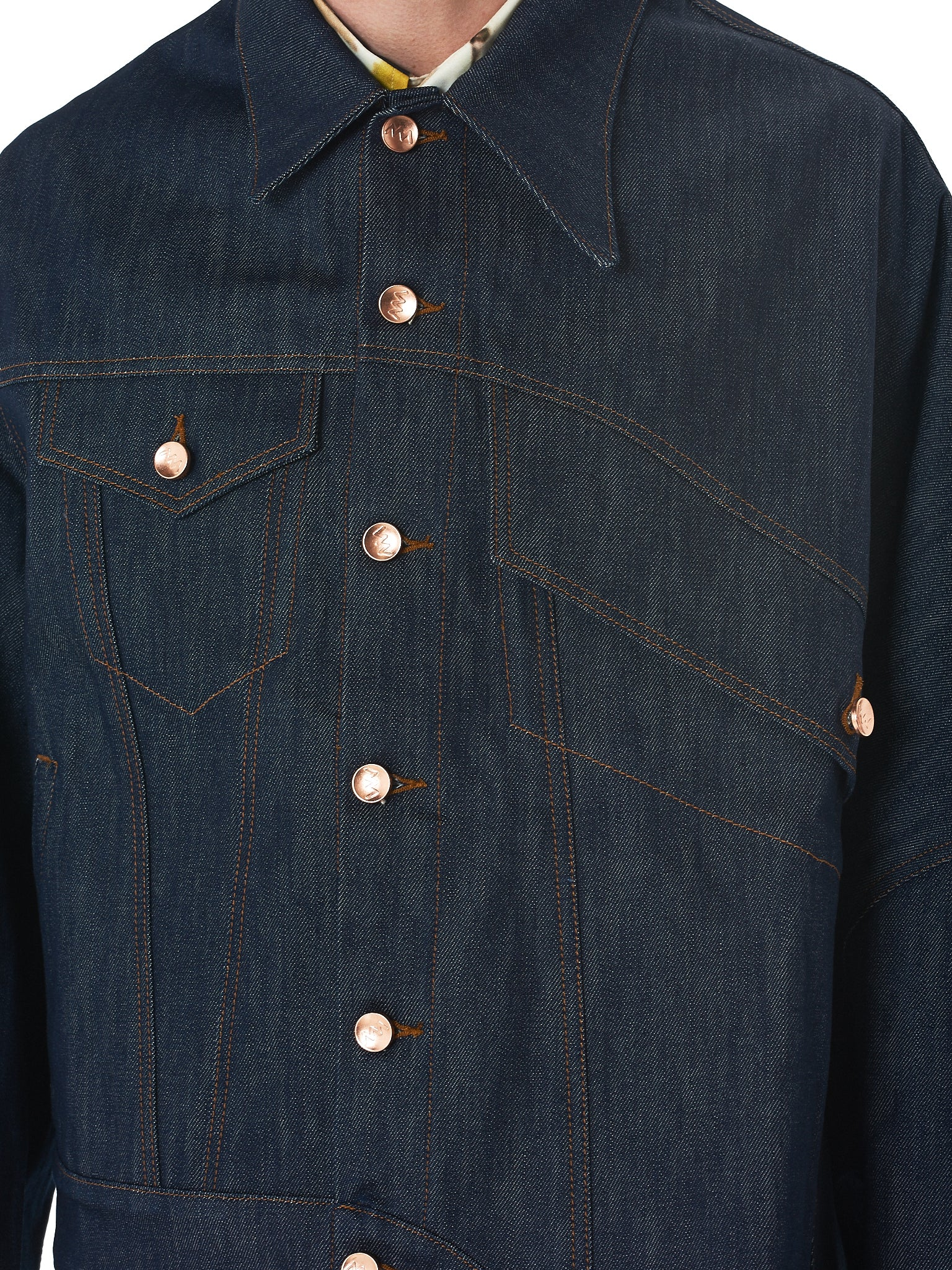 Alex Mullins Denim Jacket - Hlorenzo Detail 3