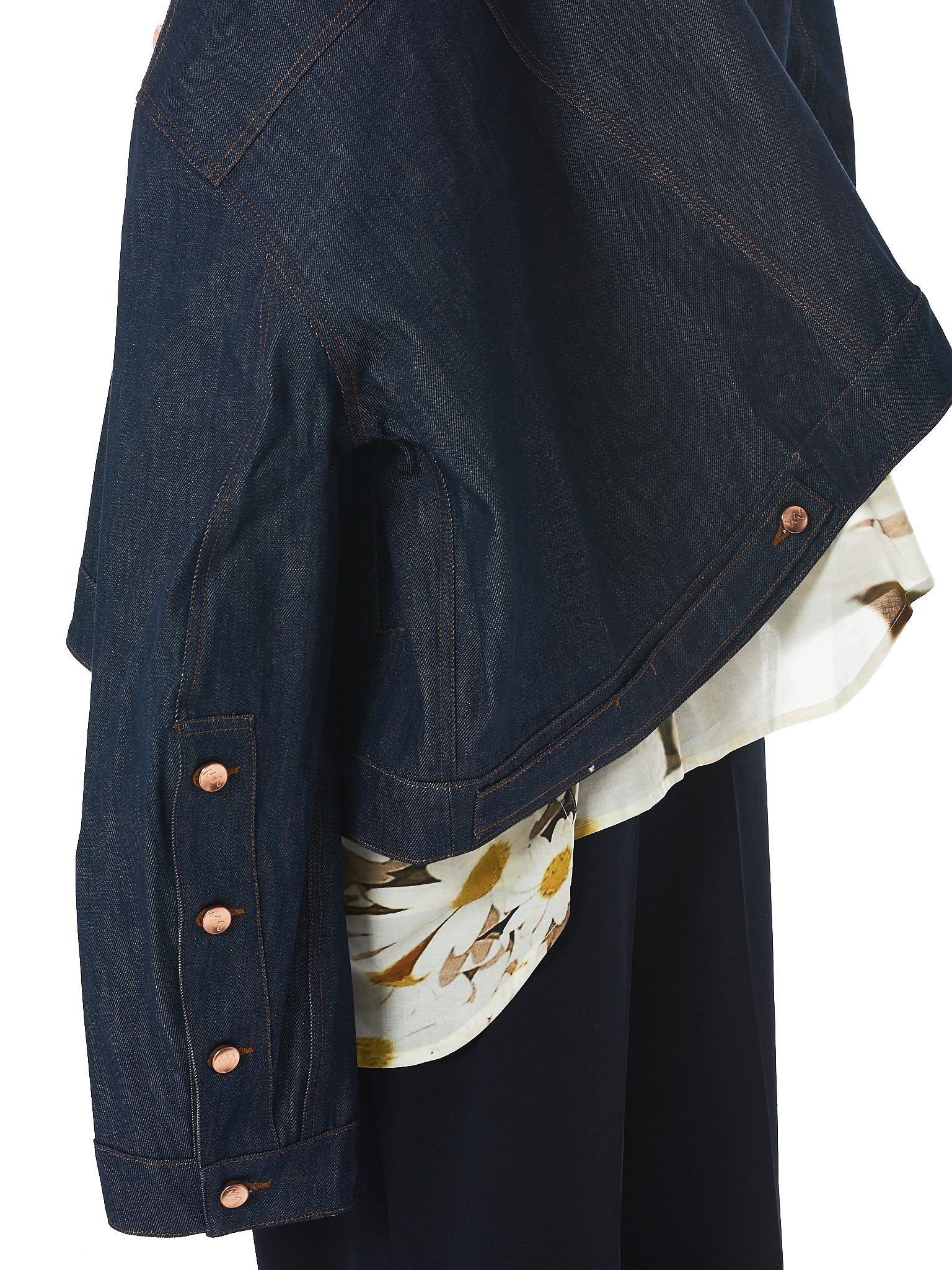 Alex Mullins Denim Jacket - Hlorenzo Detail 5