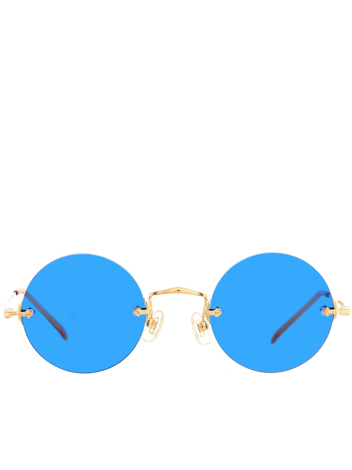 Anaaki Sunglasses (ANAAKI-M-GP-ROUND-BIG-BLUE-PUR)