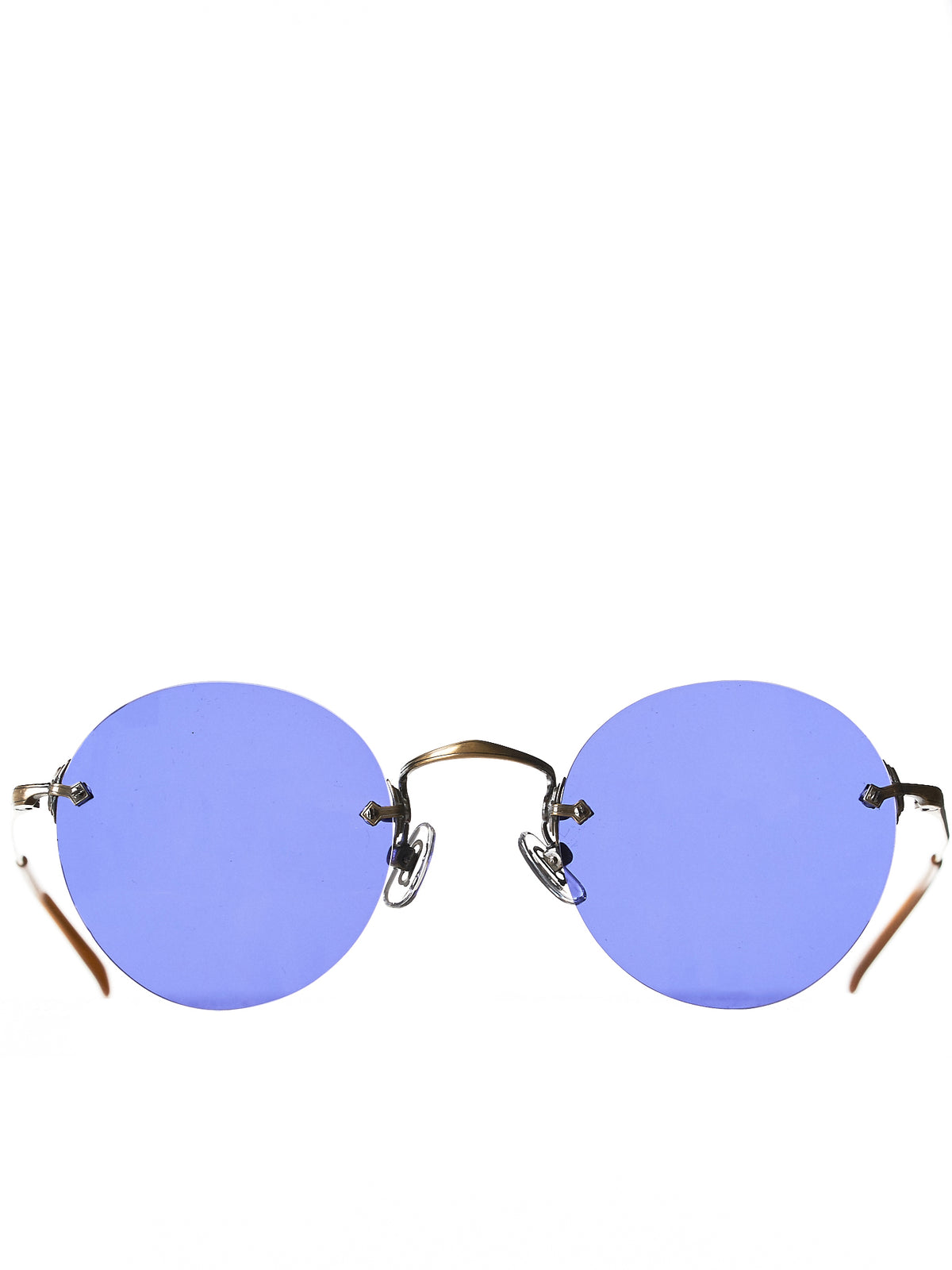 'ANAAKI' Titanium Sunglasses (ANAAKI-M-UPPER-SHAPE-BOSTON-AG)