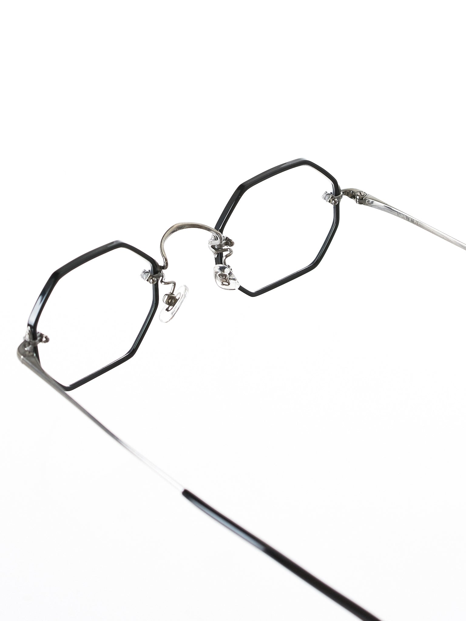 ANAAKI Octagon Glasses (ANAAKI-RIM-OCTA-BLK-AS-CLEAR)