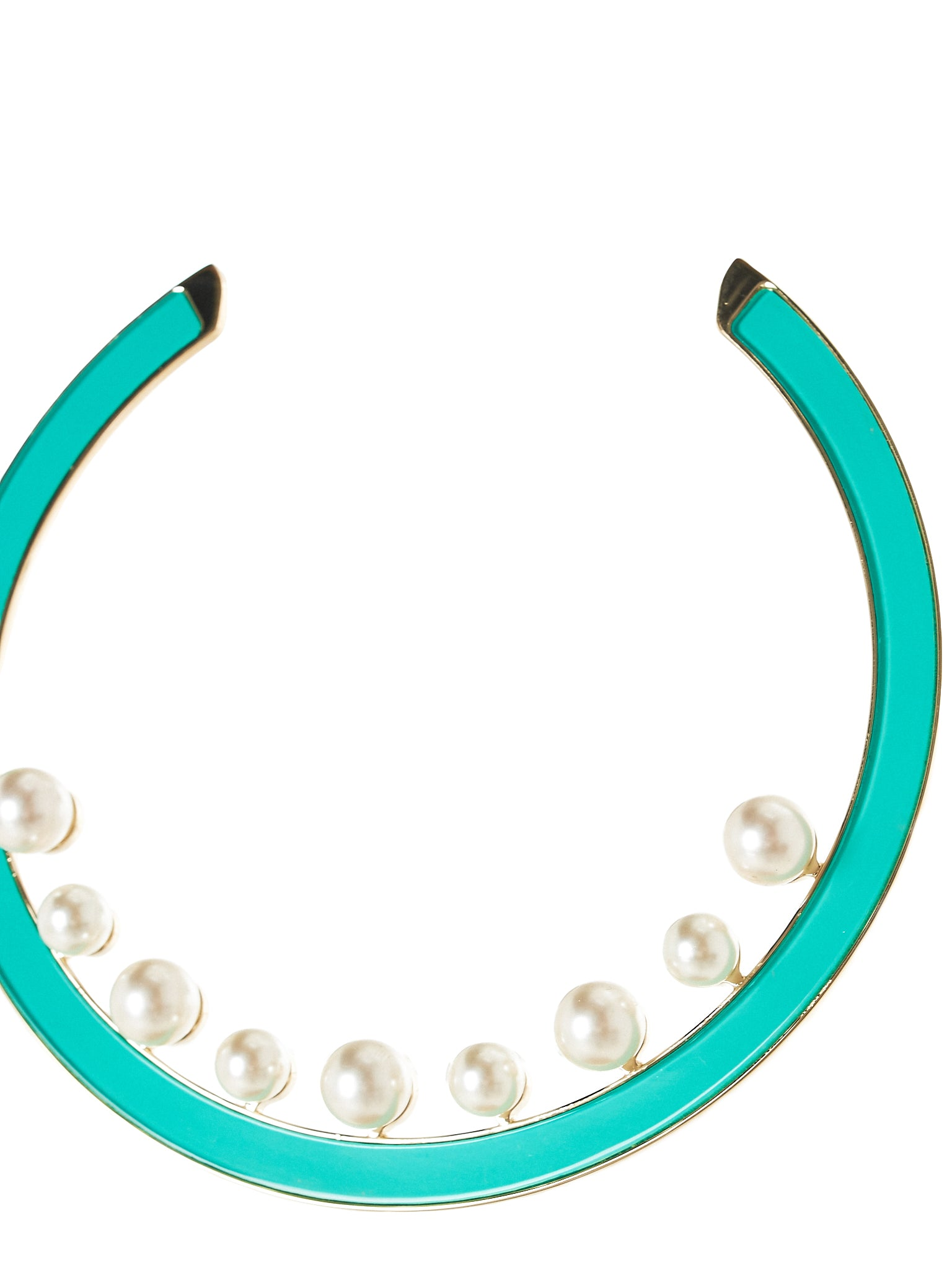 sylvio giardina pearl necklace - H.Lorenzo side