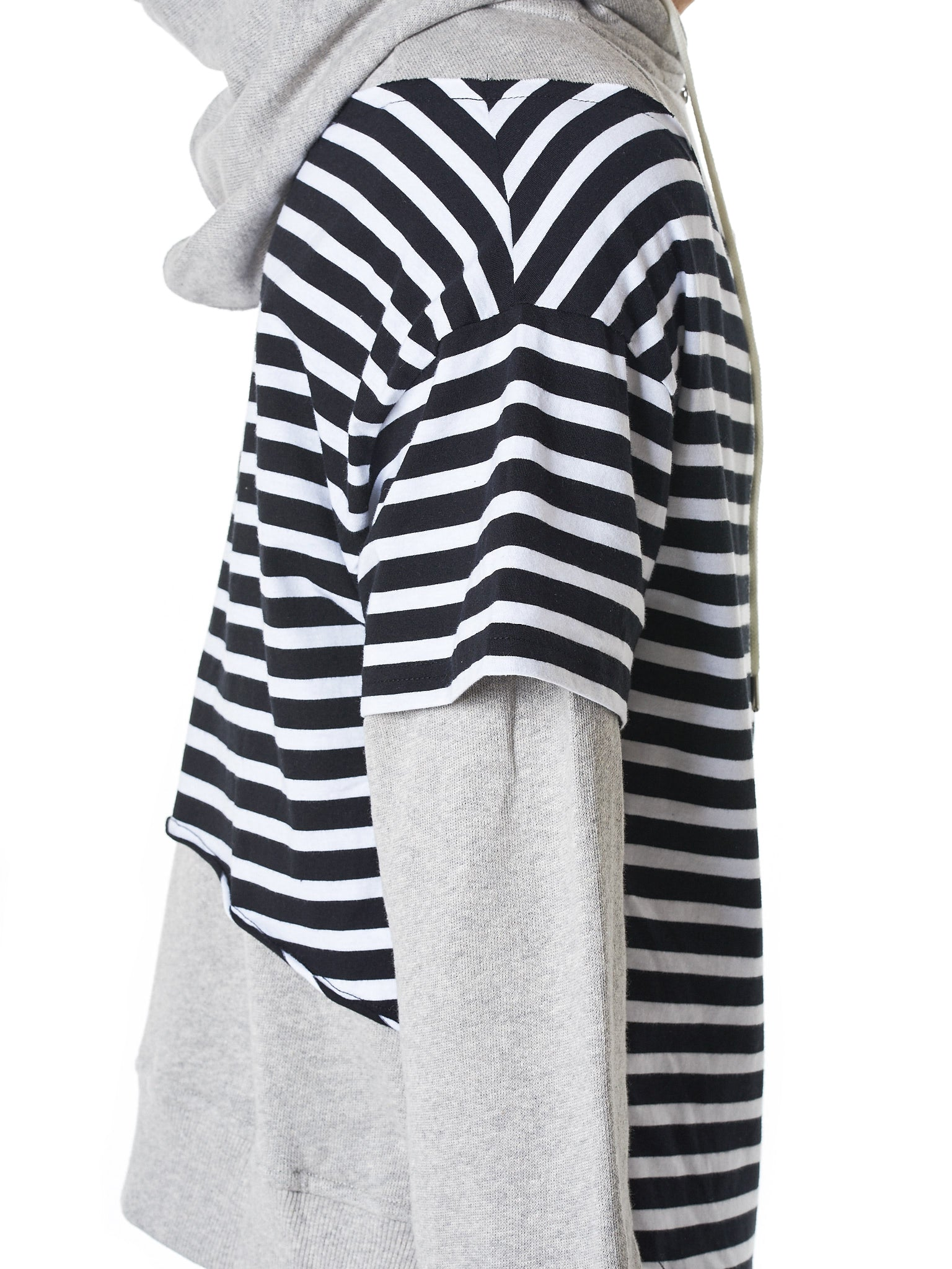 Charles Jeffrey Loverboy Striped Hoodie - Hlorenzo Detail 1