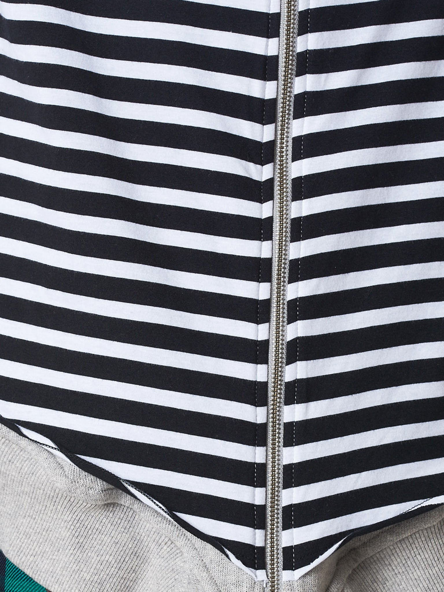 Charles Jeffrey Loverboy Striped Hoodie - Hlorenzo Detail 3