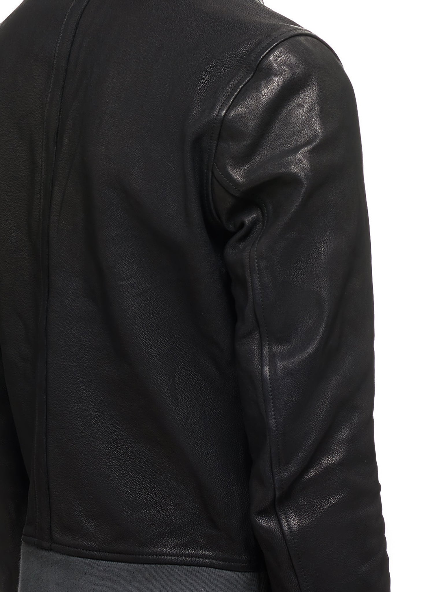 Guidi Leather Jacket - Hlorenzo Detail 1