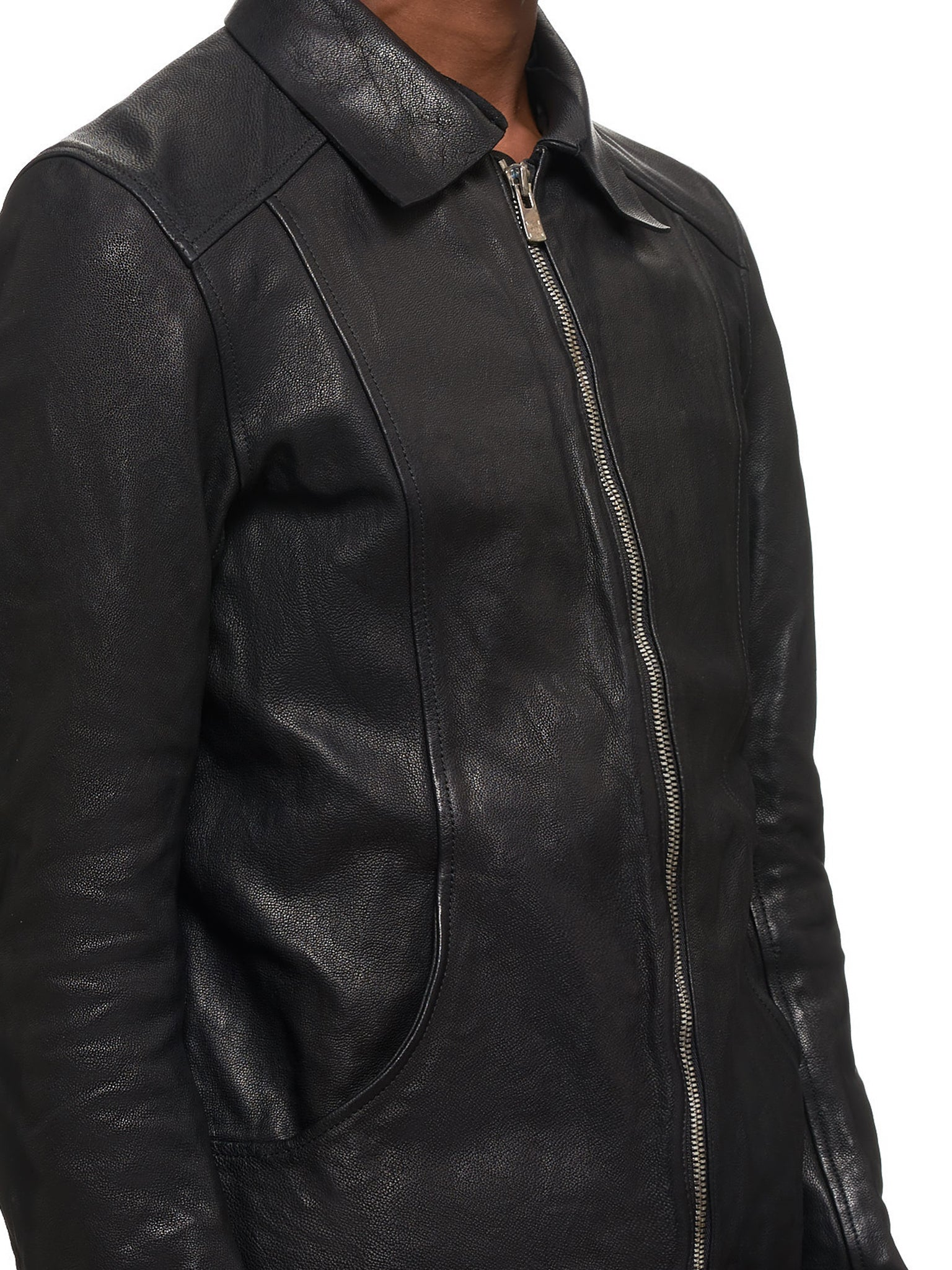 Guidi Leather Jacket - Hlorenzo Detail 2