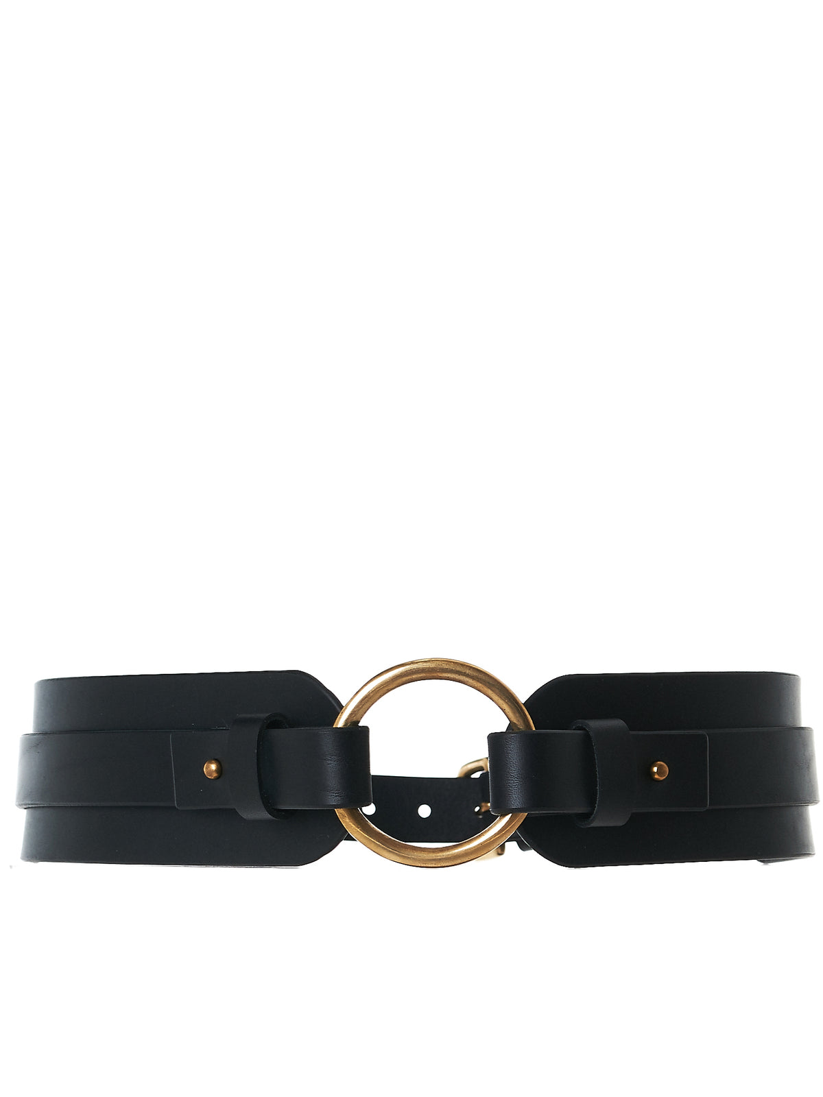 Paneled Buckled Choker (AW17-BLT-CHNKOR-BLACK)