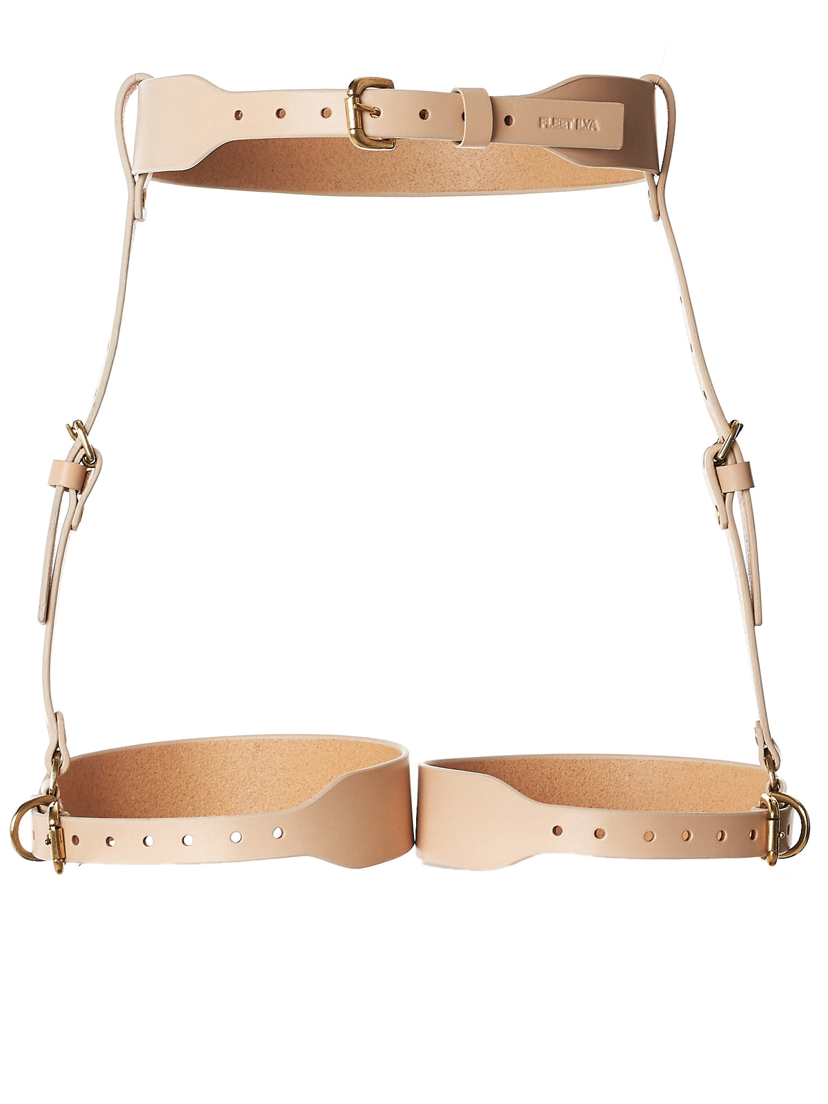 Belted Waist Harness (AW17-HRNS-CLS-NUDE)