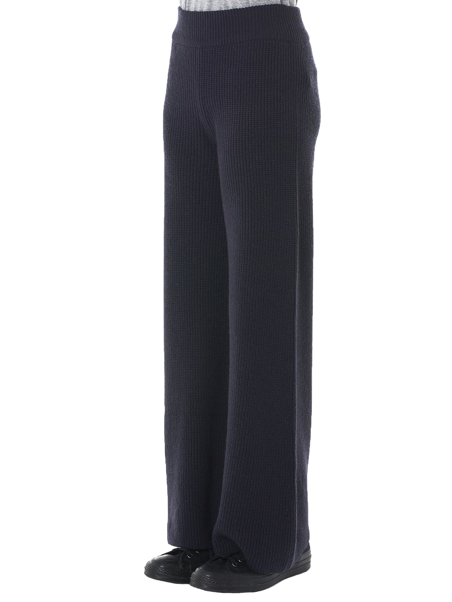 Cortina Cashmere Knit Pants (AW3KP001-ANTIQUE-INDIGO)