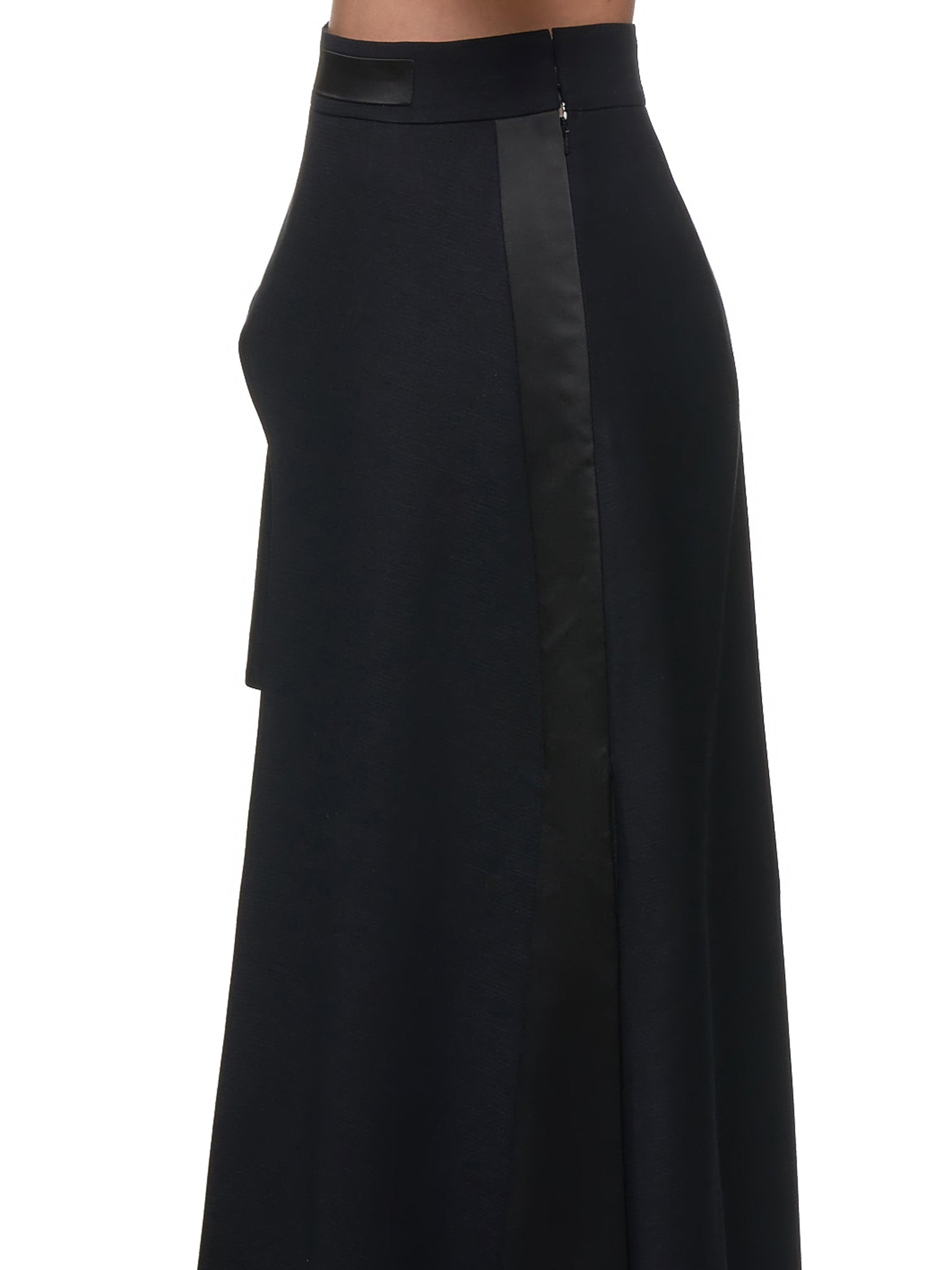 Caped Skirt (B4-BLACK)