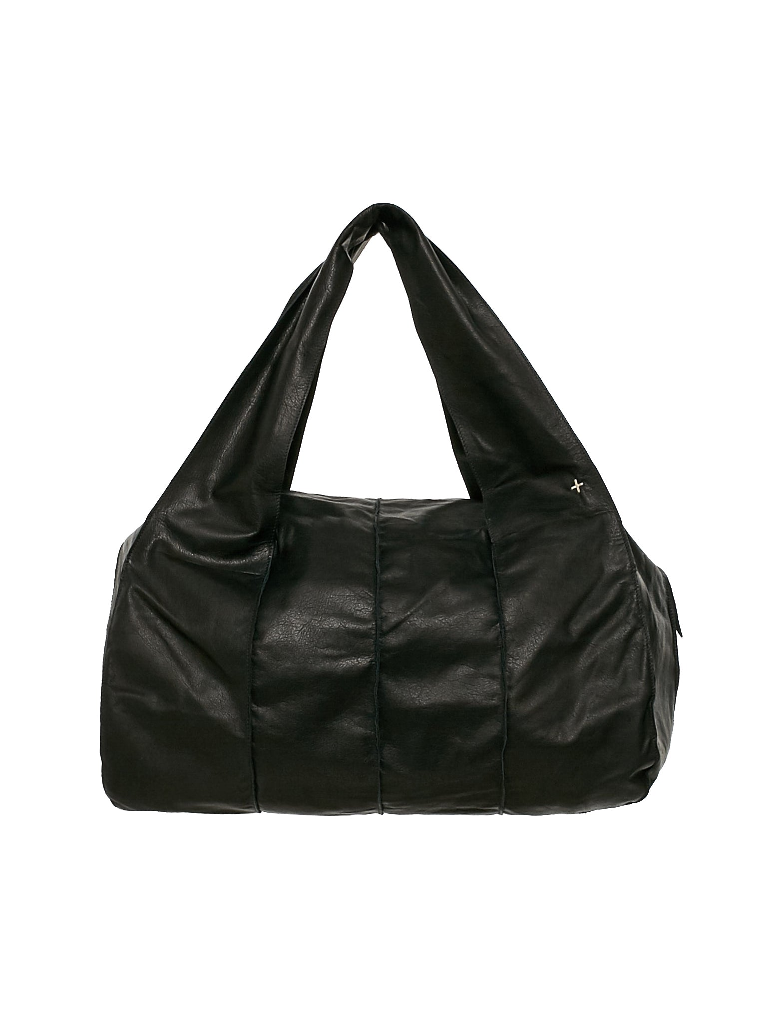 Leather Hand Bag (BA21-SY-0-3-BLACK)