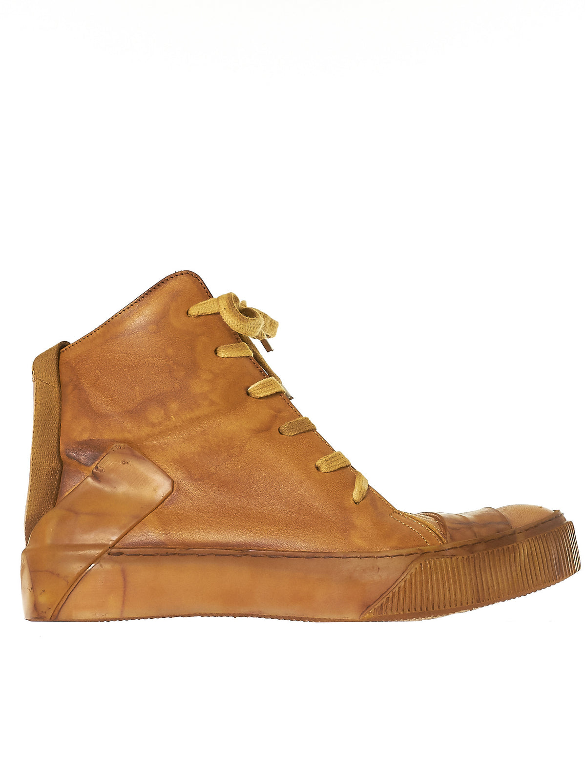 Tanned Leather Sneakers (BAMBA1-F235-C5) - H. Lorenzo