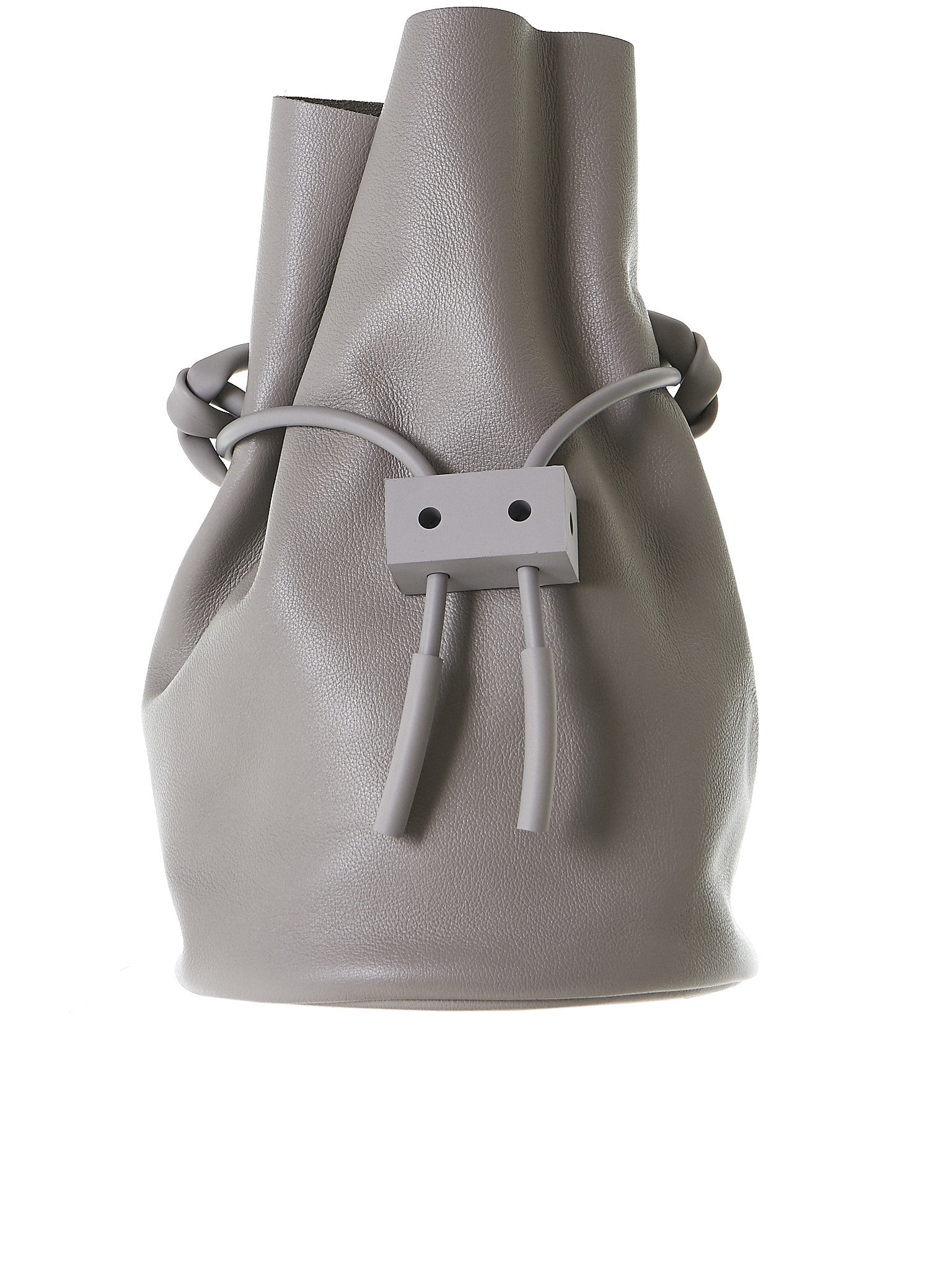 Bucket Bag (BB01-CNC-CABLE-OUTLET-GREY) - H. Lorenzo