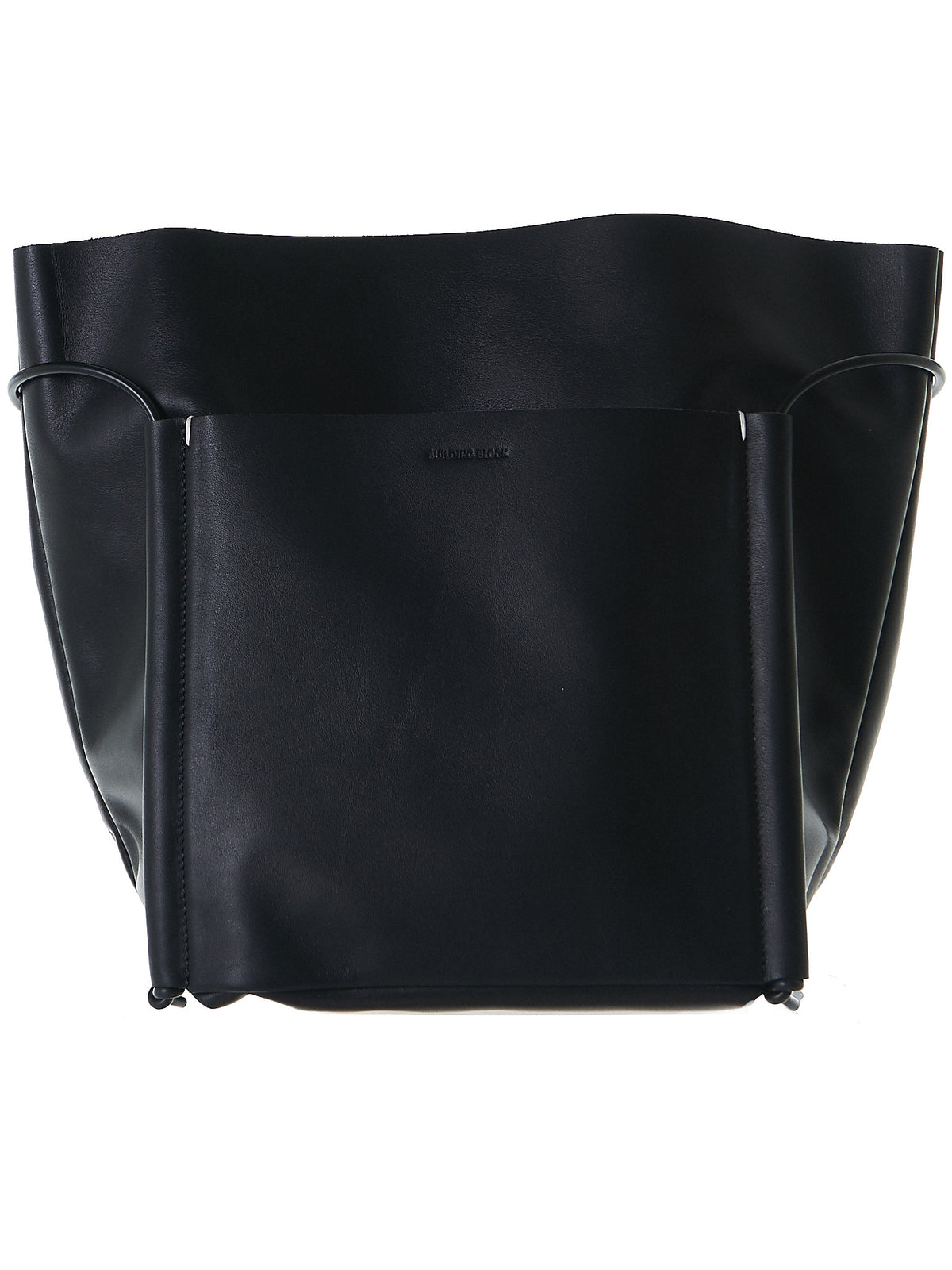 BB25-POCKET-TOTE-BLACK - H. Lorenzo