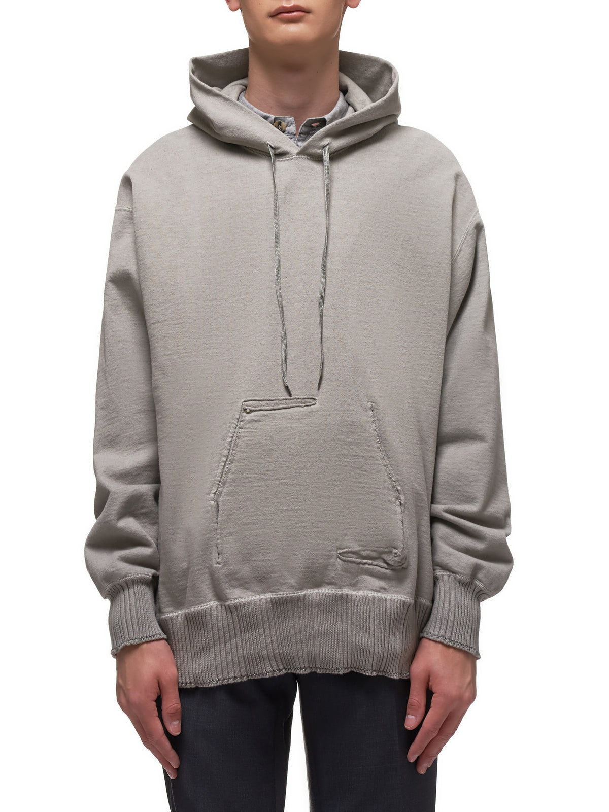 Big Sweater Parka (BIG-SWEAT-PARKA-LIGHT-GRAY)