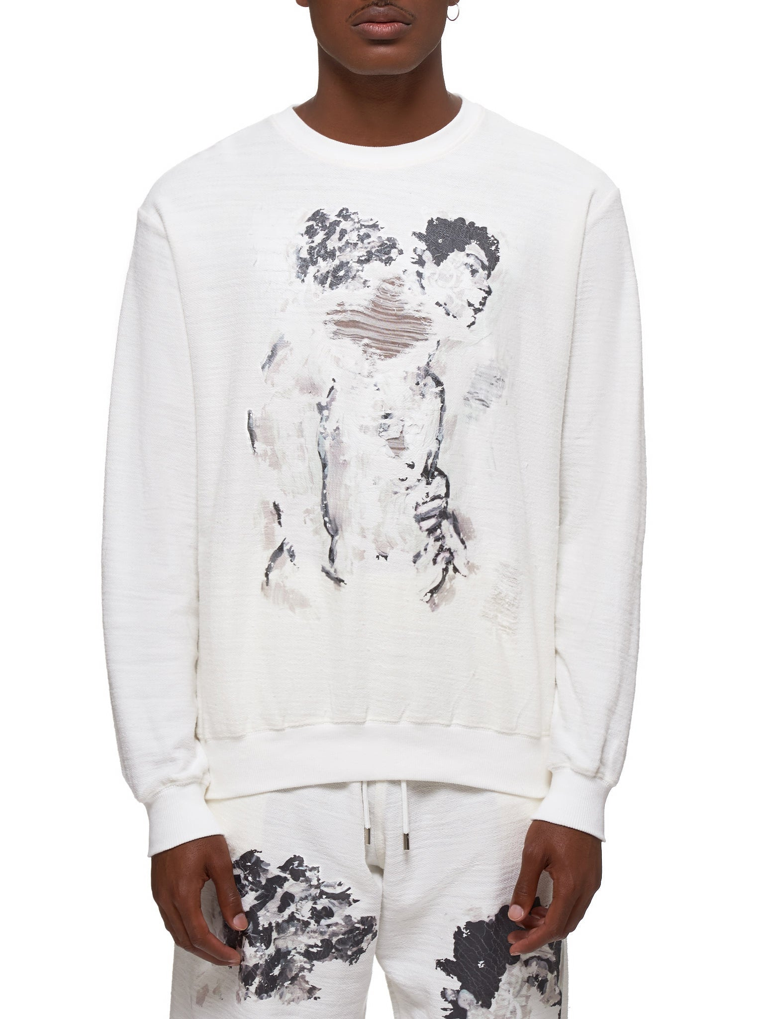 Distressed Pullover by Ka Wa Key