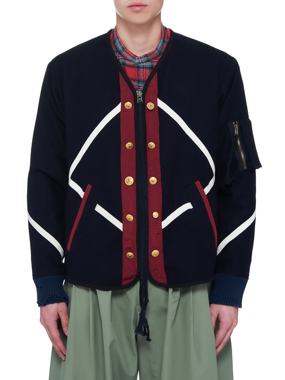 Modern Flight Uniform Jacket (BM024-NAVY)