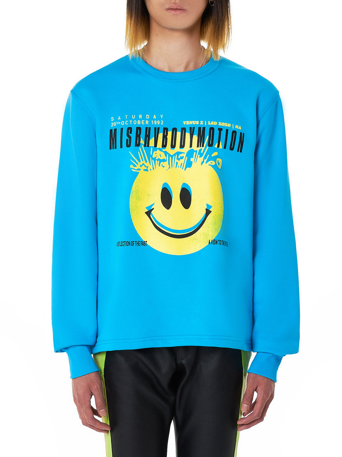 Body Motion Crewneck Pullover (BODY-MOTION-BLUE)