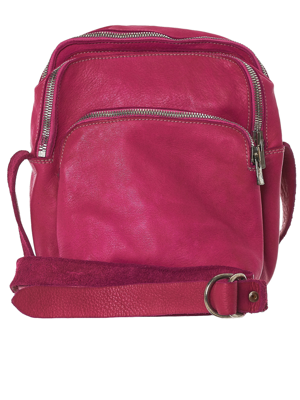 Object-Dyed Leather Bag (BR0-SOFT-HORSE-FG-CO38T)