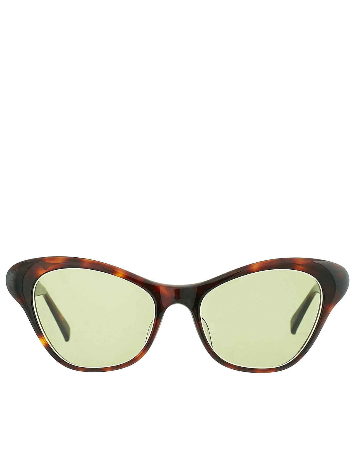 'Britt Sunglasses' (BRITT-BROWN-TORTSHL-GREEN3)