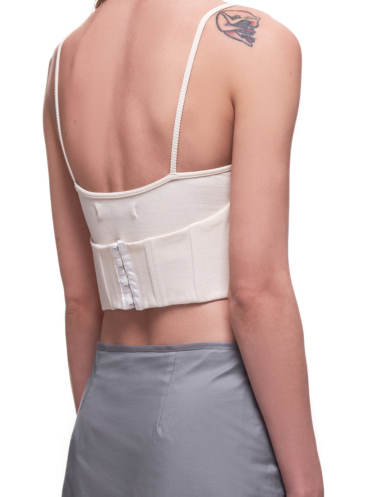 Tank Top with Corset (BST3IV-IVORY)