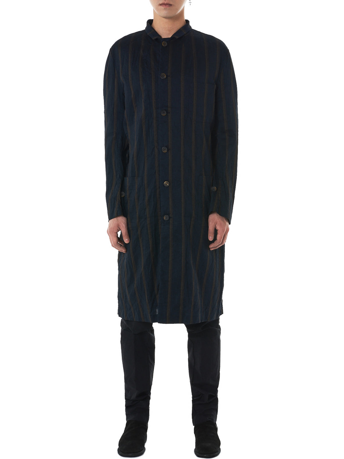 Forme D'Expression Striped Coat - Hlorenzo Front