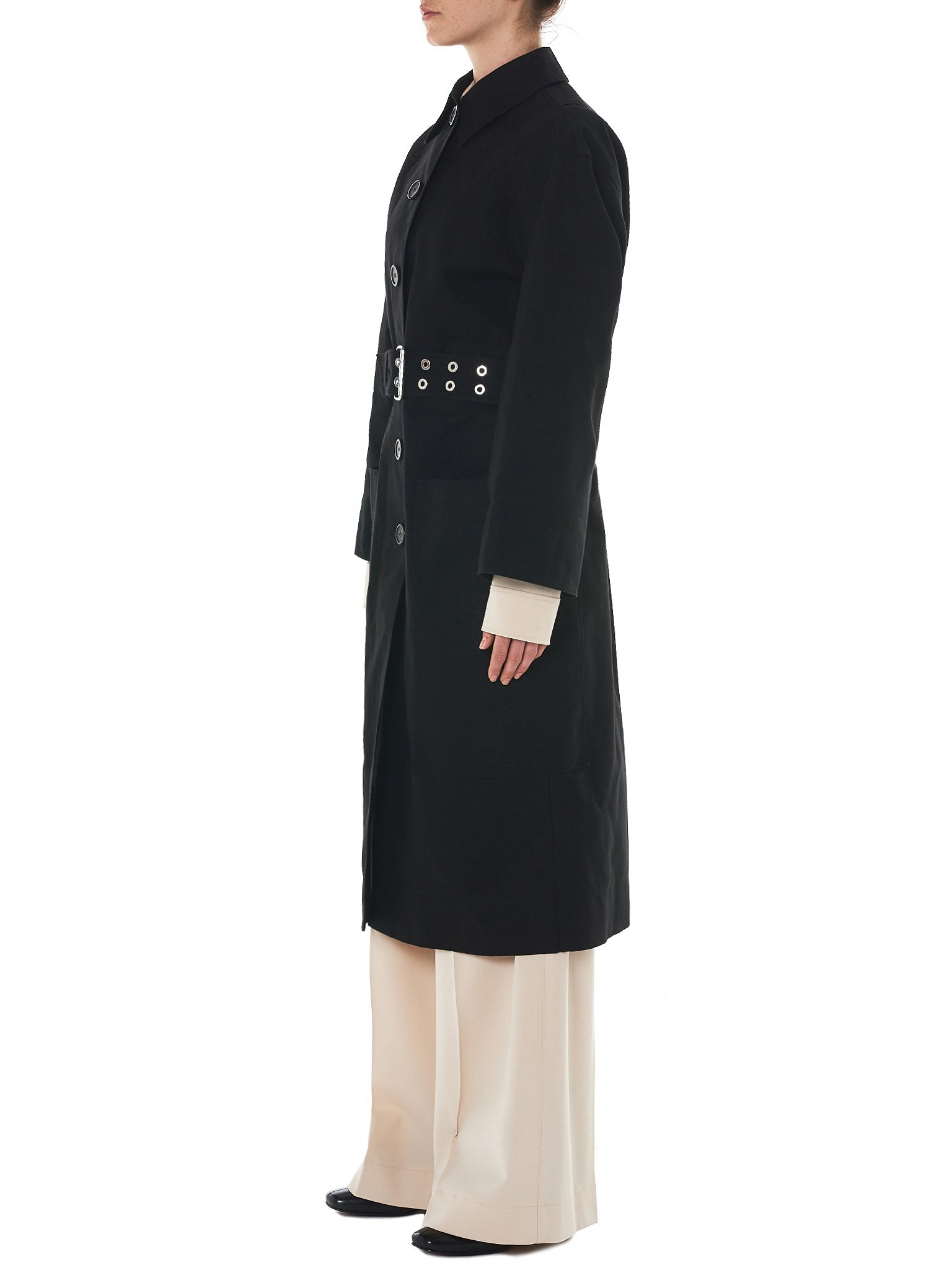Kwaidan Oversized Coat - Hlorenzo Side