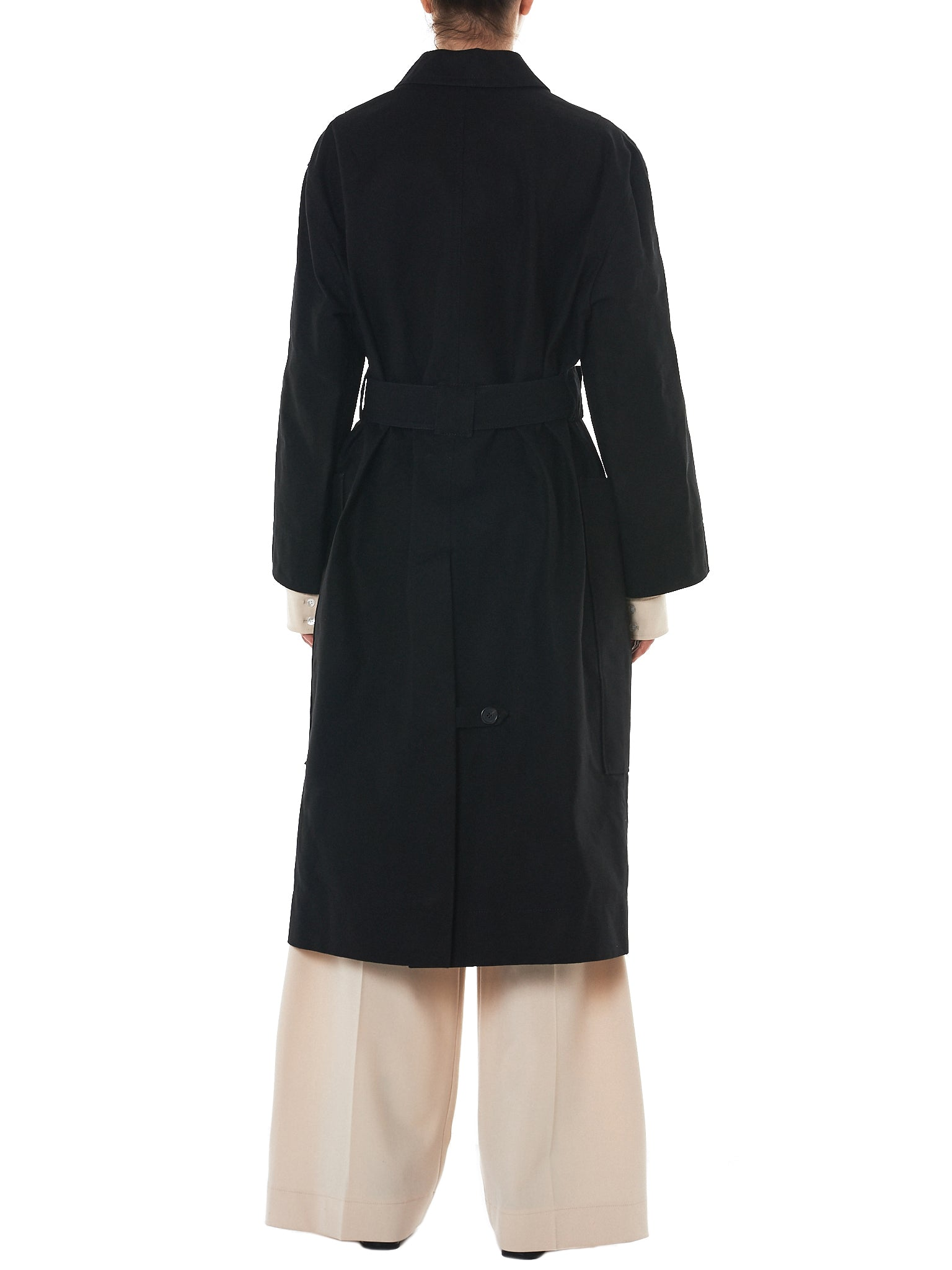 Kwaidan Oversized Coat - Hlorenzo Back
