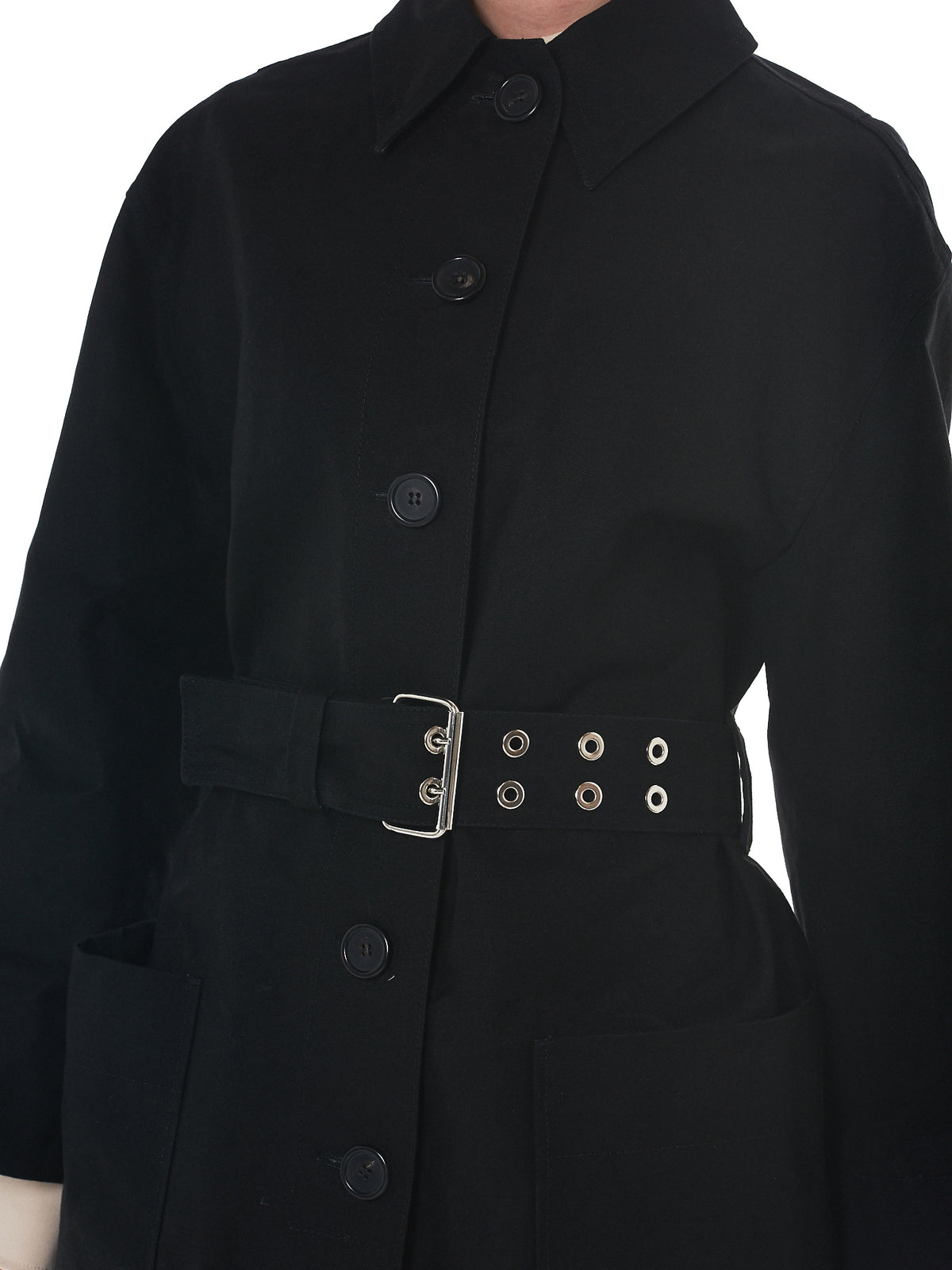 Kwaidan Oversized Coat - Hlorenzo Detail 2