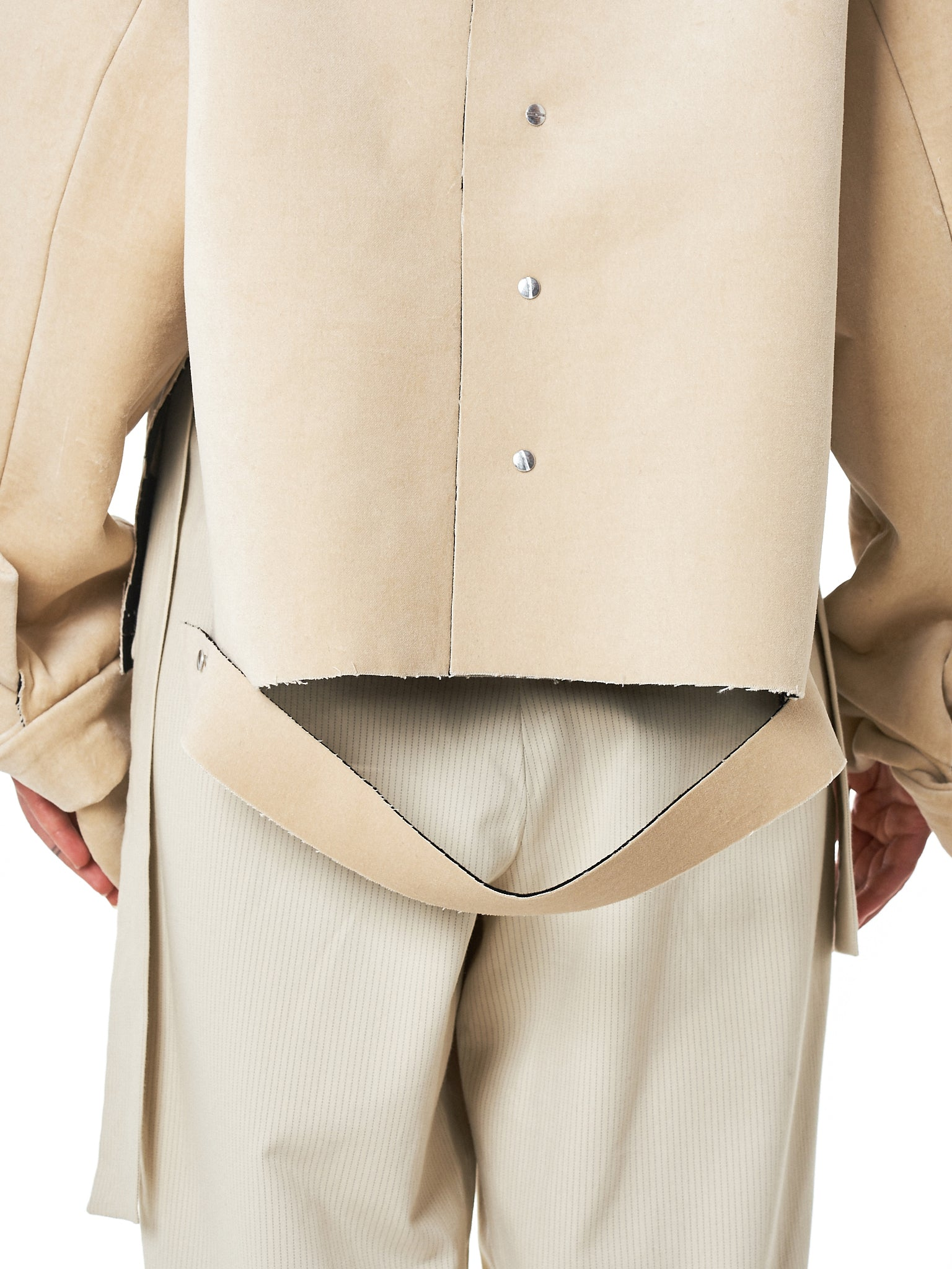 Daniel Gregory Natale Jacket - Hlorenzo Back Detail