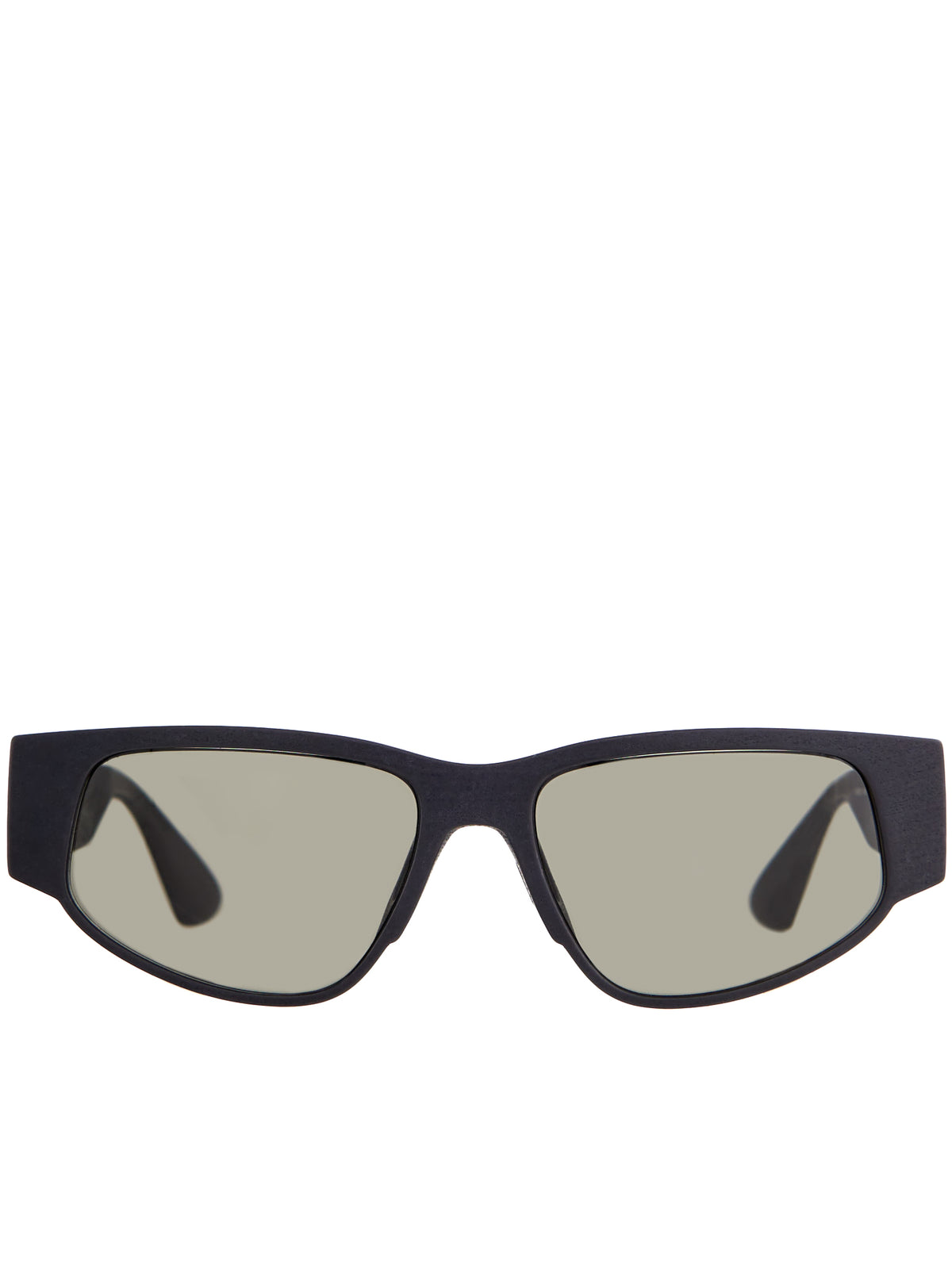'Cash' Sunglasses (CASH-PITCH-BLACK-GREY-SOLID)