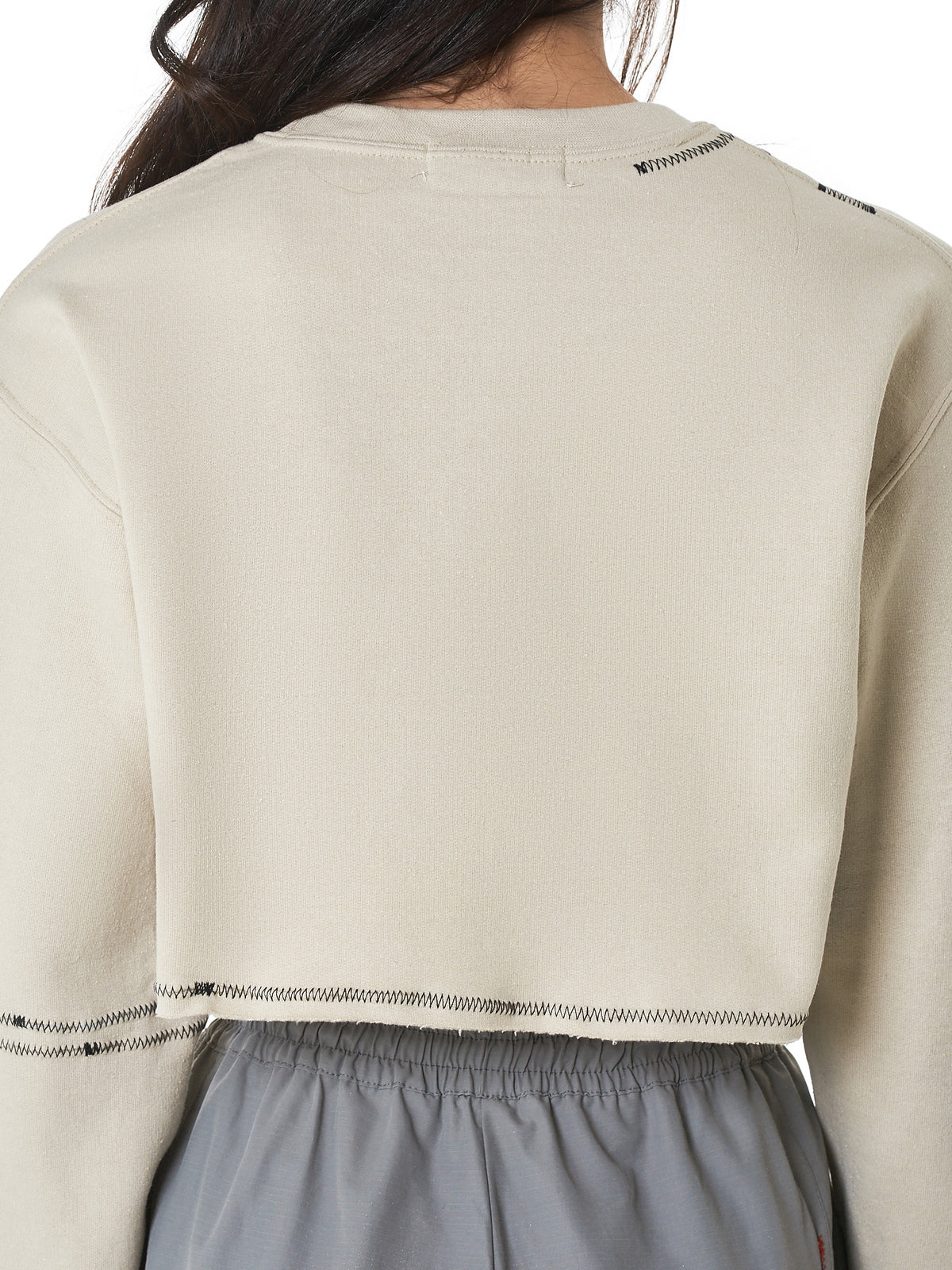 Claire Barrow Cropped Sweater - Hlorenzo Detail 2