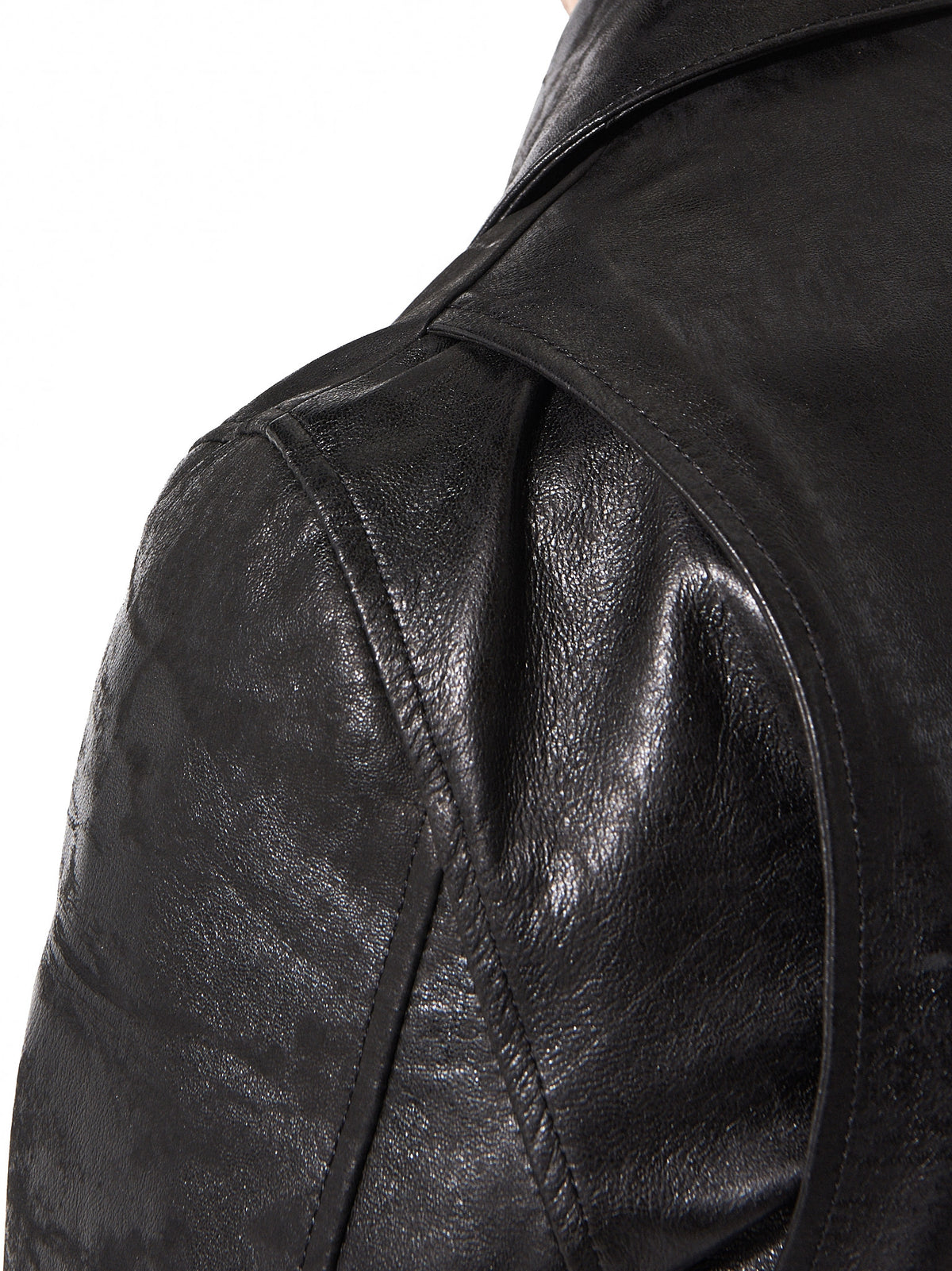 Signature Motorcycle Jacket (CD-17S-1107 BLACK) - H. Lorenzo