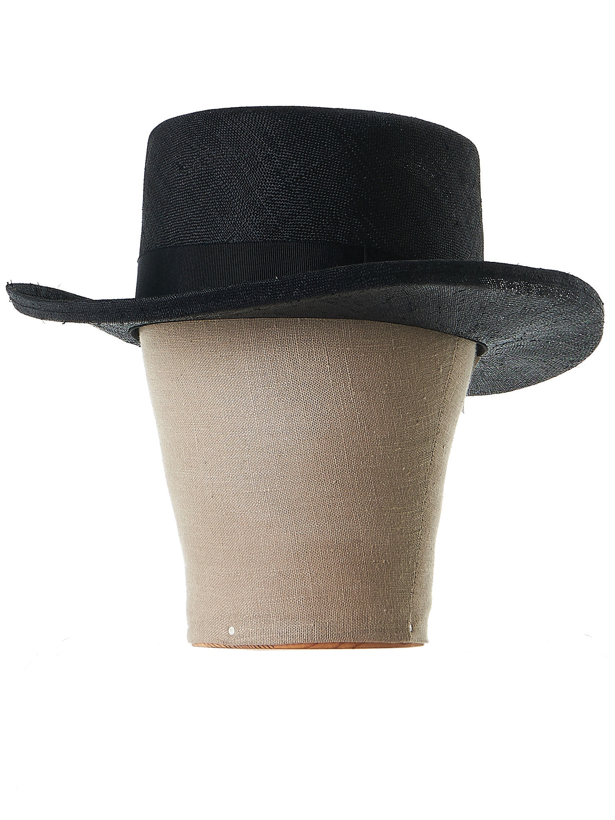 Jim Karakusa 'Ring' Hat (CD17S-1303-BLACK) - H. Lorenzo
