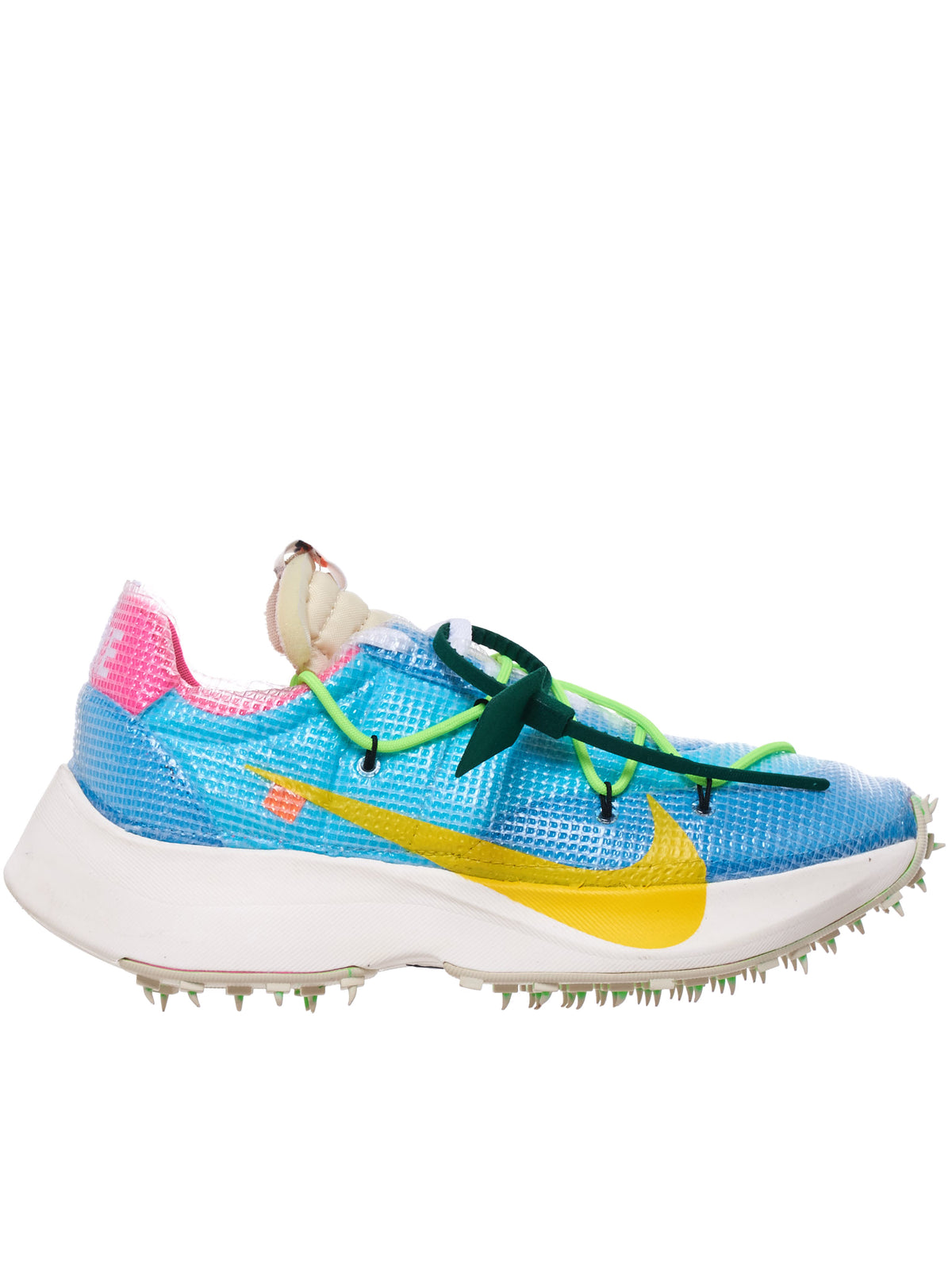 Nike Vapor Street Off-White Sneakers (CD8178-400-BLUE-YELLOW)