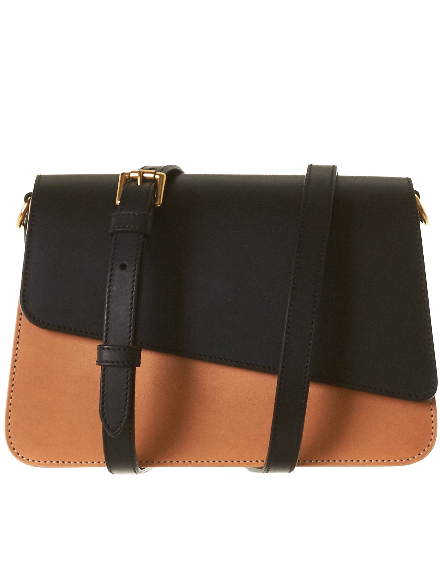Celeste Bag (CELESTE-BLACK-NATURAL) - H. Lorenzo